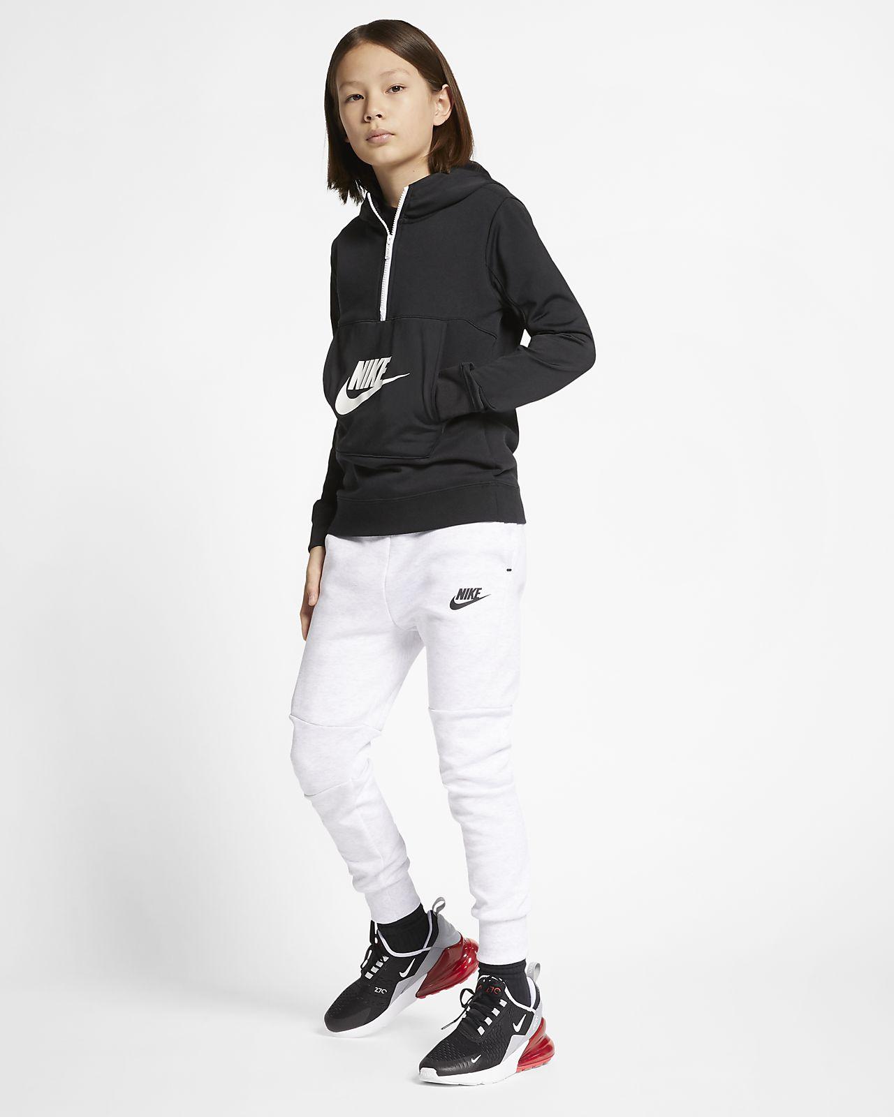 Nike Sportswear Hoodie mit Halbreißverschluss für ältere Kinder (Jungen)