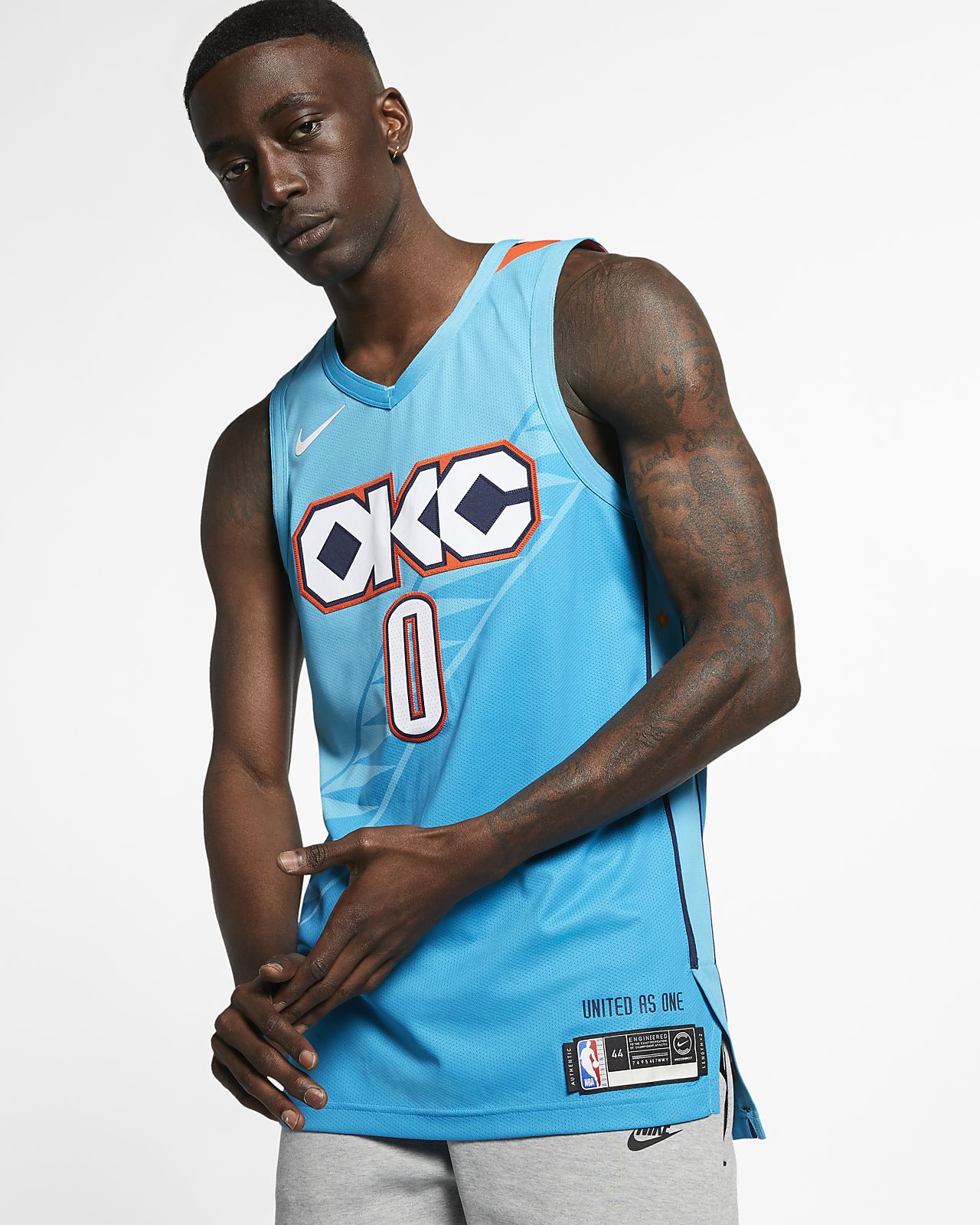 5a78c19bee3 Russell Westbrook City Edition Authentic (Oklahoma City Thunder ...
