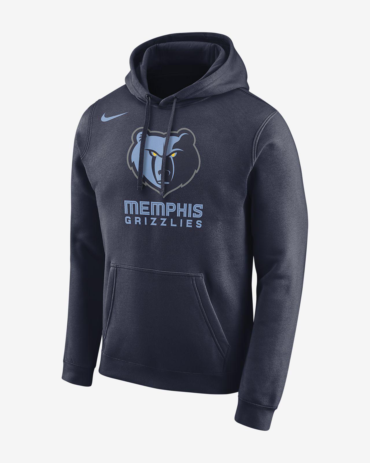 Memphis Grizzlies Nike Men's Logo NBA Hoodie
