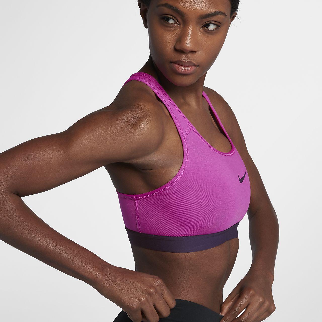 ... Nike Classic Padded Women's Medium Support Sports Bra
