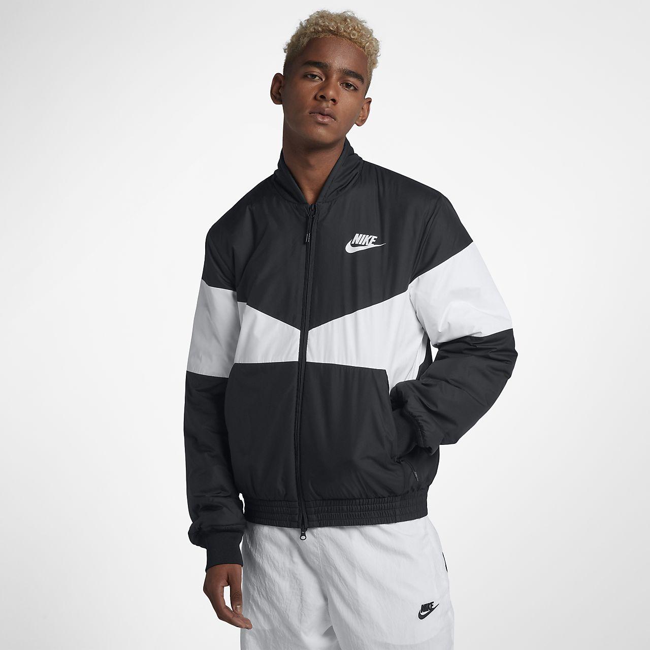 Veste aviateur à motifs Nike Sportswear Synthetic Fill pour Homme