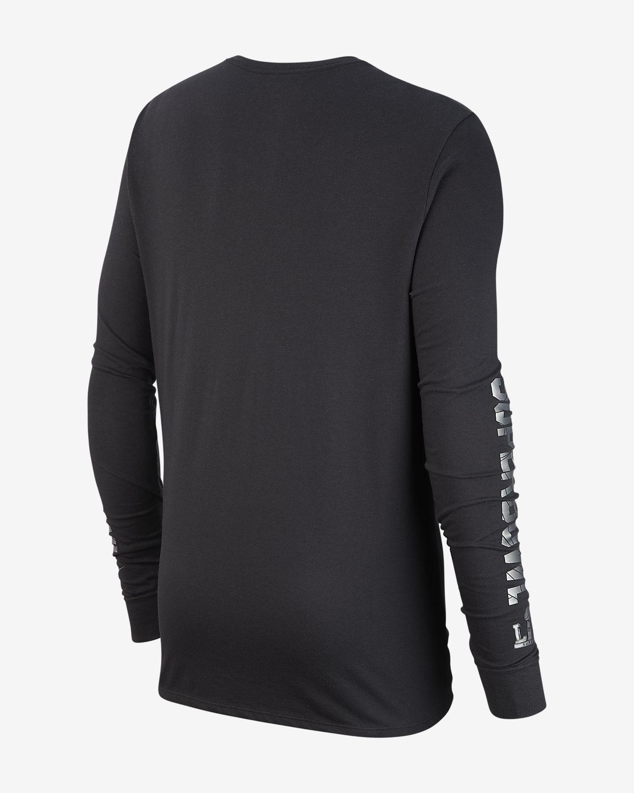 67eef61a5e Nike Dri-FIT Super Bowl LIII (NFL Rams) Men's Long-Sleeve T-Shirt