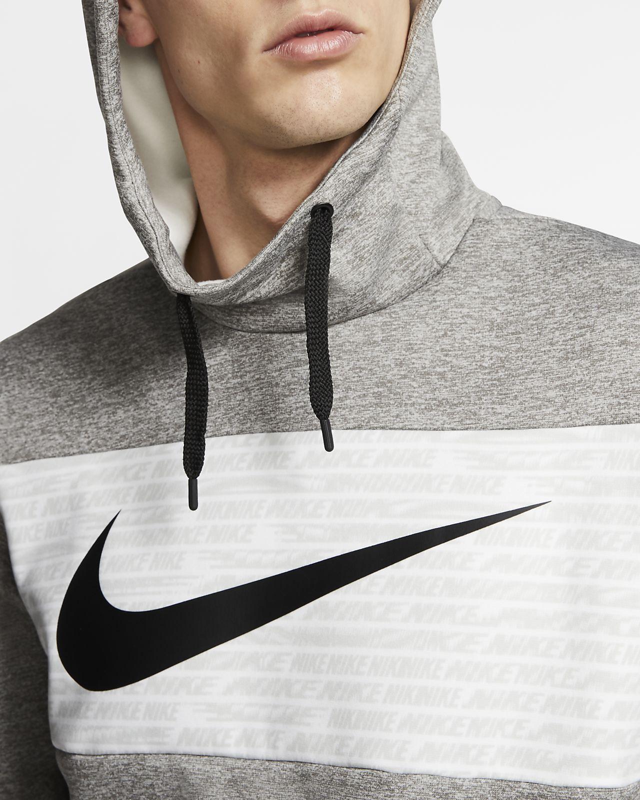 Nike Therma Trainings Fleece Hoodie für Herren