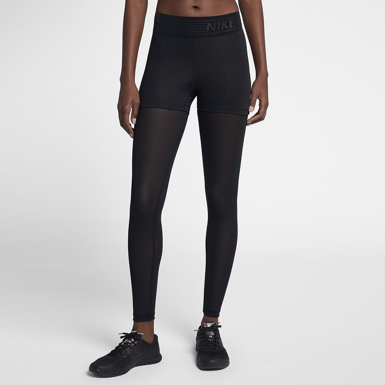 d166d887ec Nike Pro Deluxe Women s Mid-Rise Training Tights. Nike.com GB