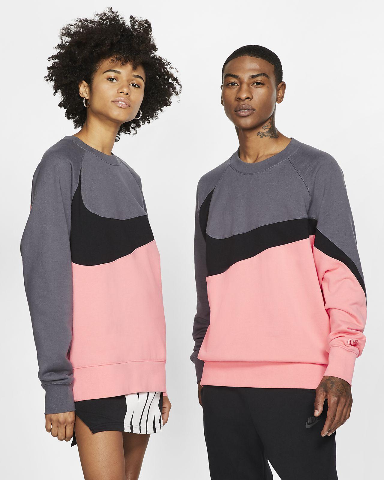 Nike Sportswear Shirt van sweatstof met ronde hals