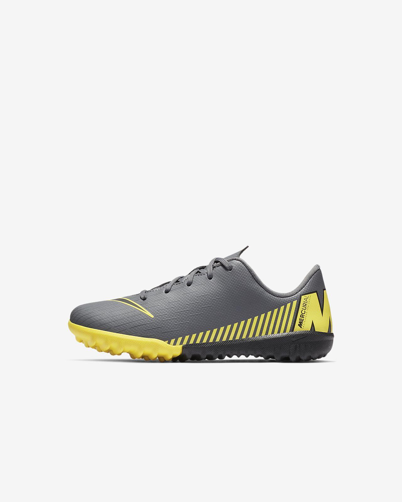 8d9809182126a ... Calzado de fútbol para terreno artificial para niños talla pequeña Nike  Jr. MercurialX Vapor 12