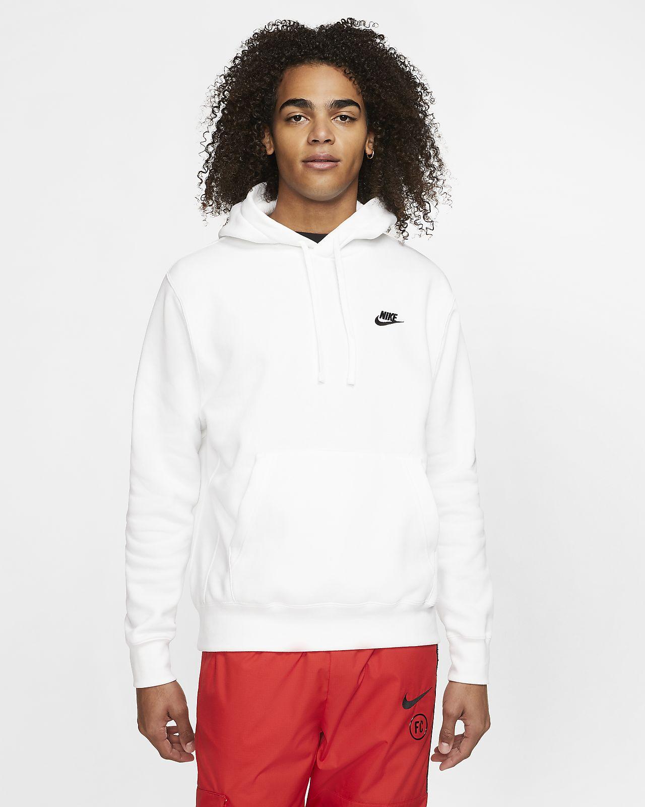 Nike Sportswear hoodie white