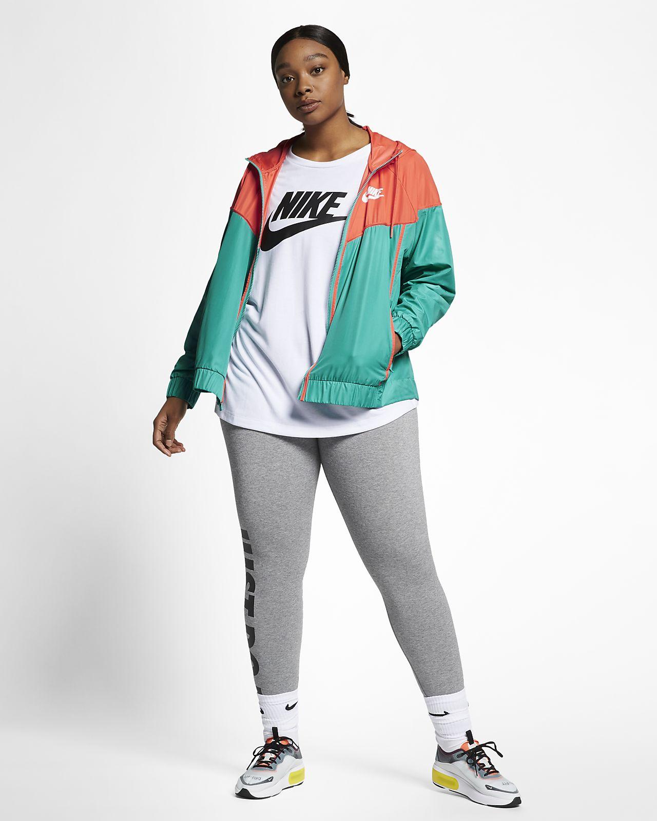official photos a9c94 c2be9 ... Jacka Nike Sportswear Windrunner för kvinnor (stora storlekar)
