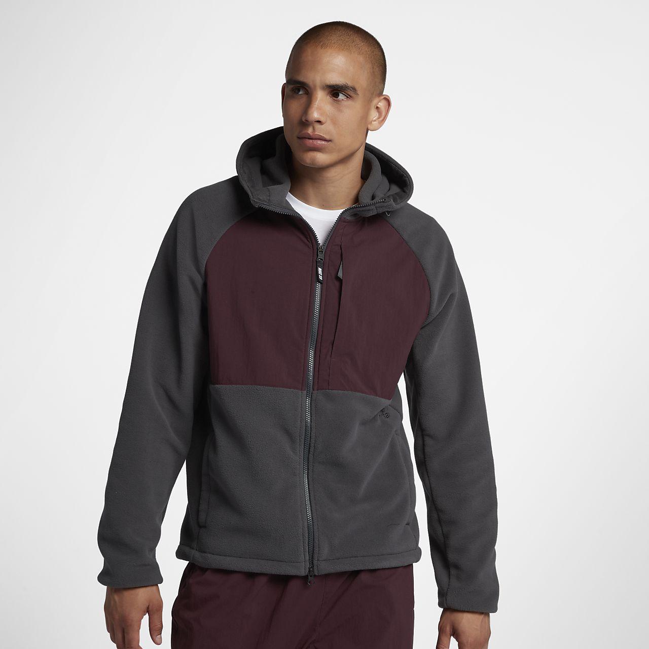 Sweat à capuche de skateboard entièrement zippé Nike SB Winterized pour Homme