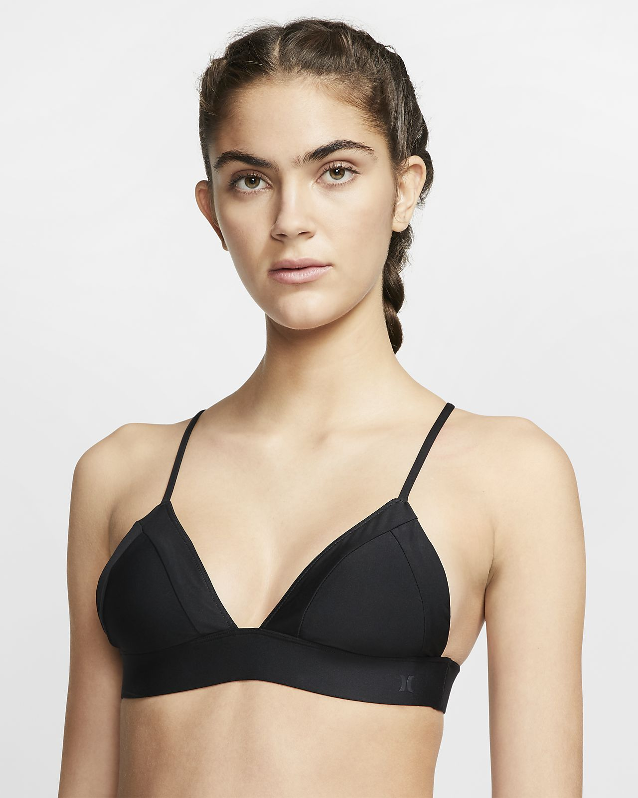 Hurley Quick Dry Bralette Women's Surf Top