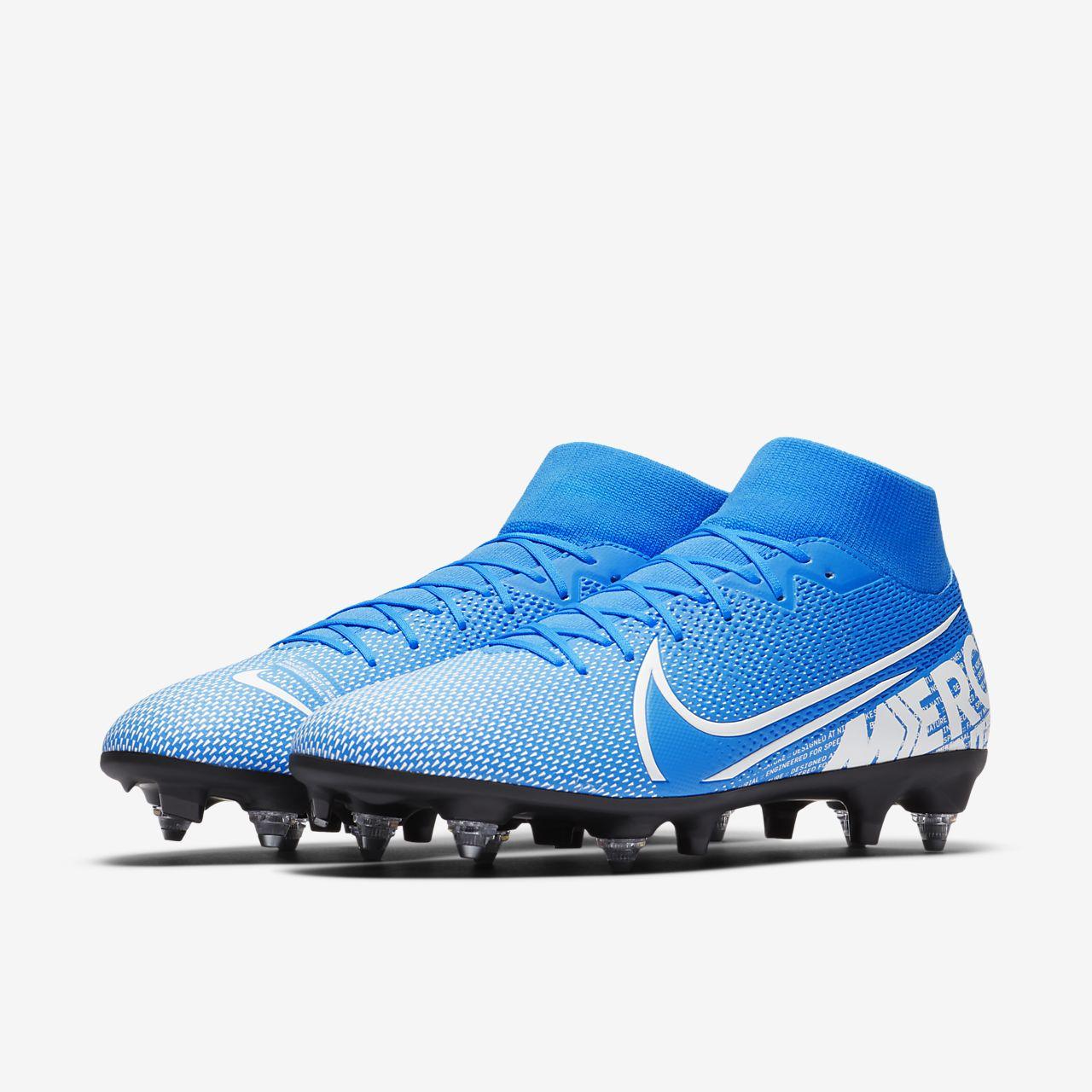 Chaussure de football à crampons pour terrain gras Nike Mercurial Superfly 7 Academy SG PRO Anti Clog Traction