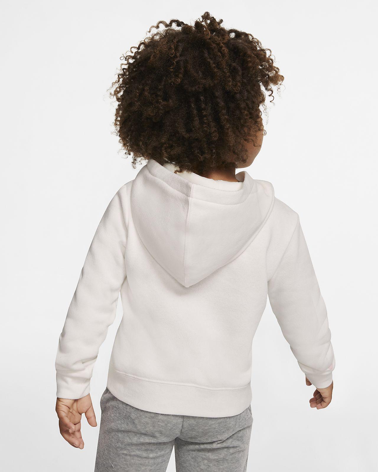 Bluza o skróconym kroju dla małych dzieci Nike Sportswear