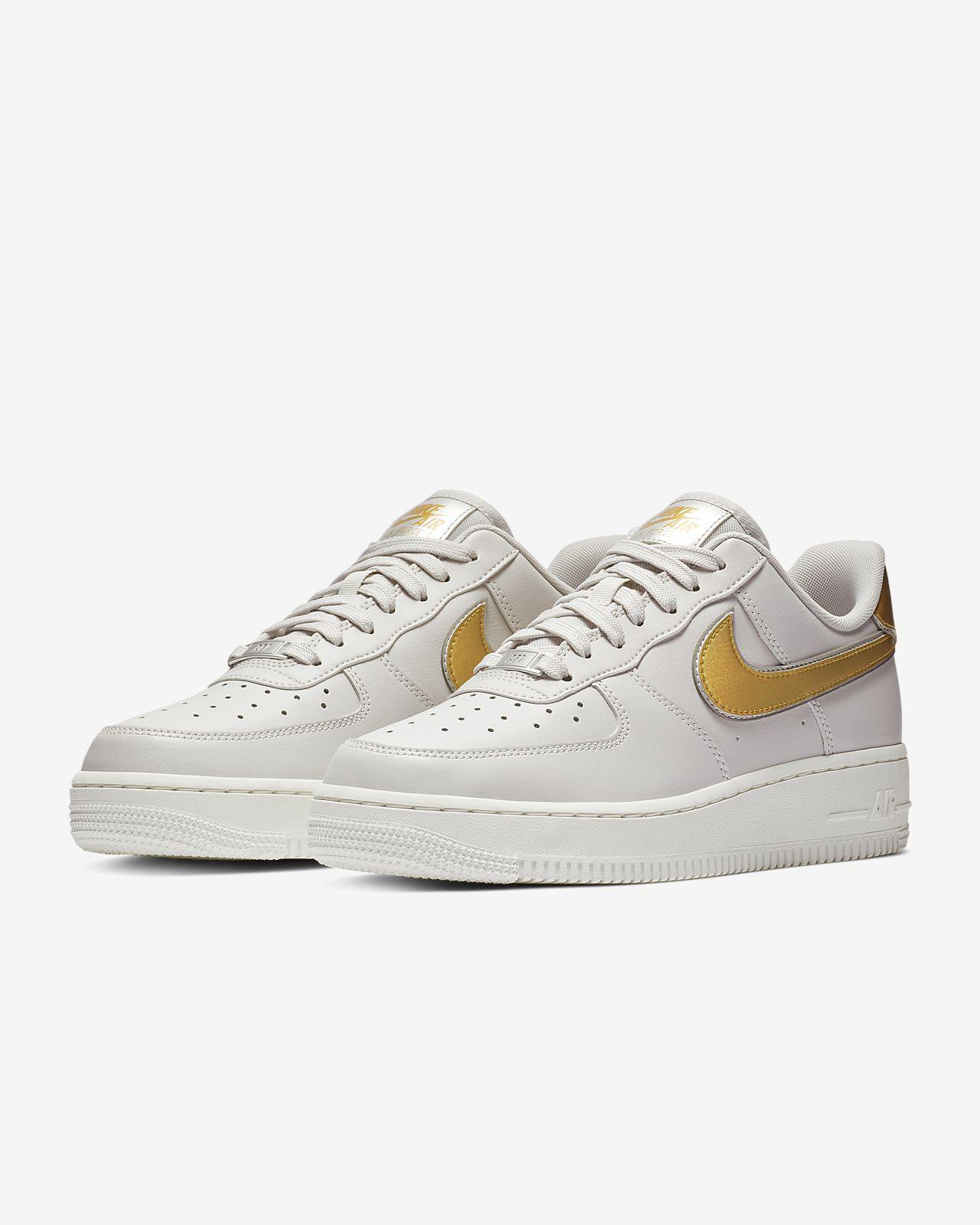 43fa23926223 Nike Air Force 1  07 Metallic Women s Shoe. Nike.com NZ
