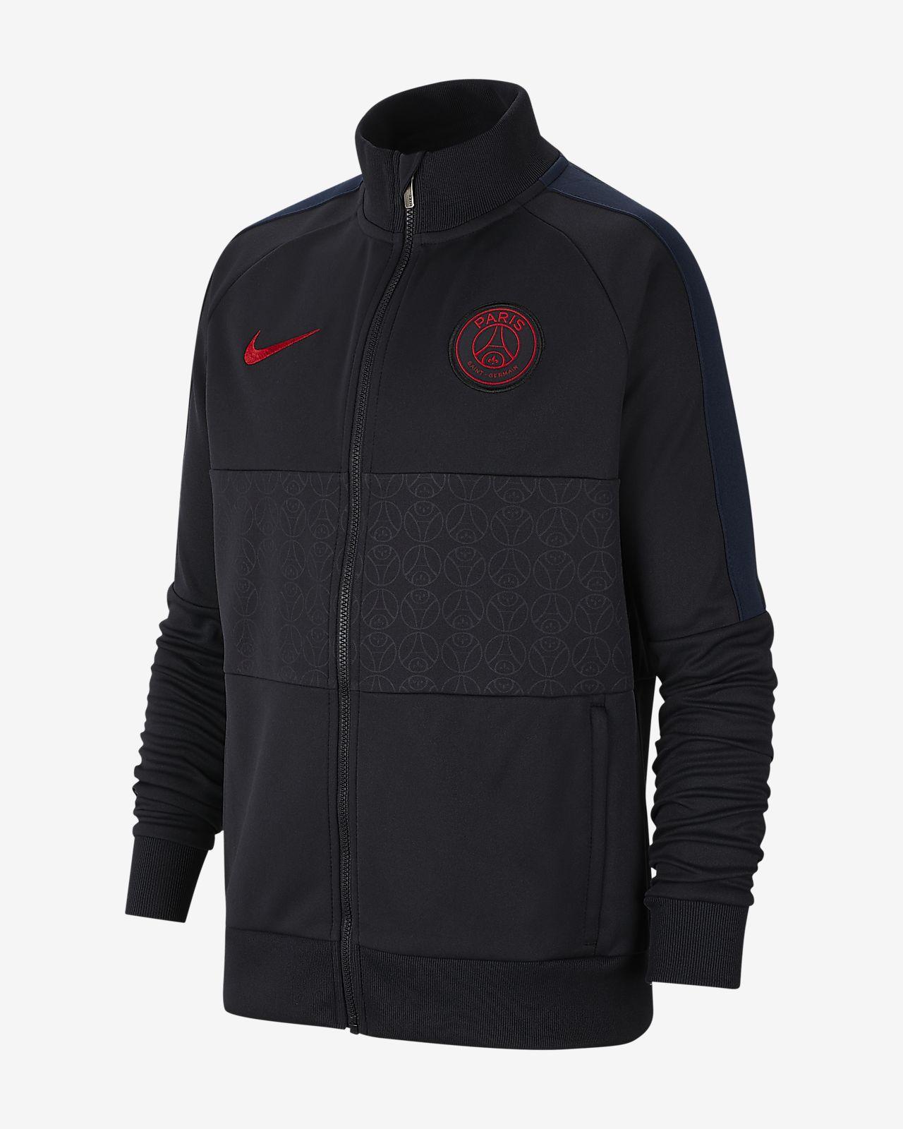 34b872cc Paris Saint-Germain-jakke til store børn. Nike.com DK