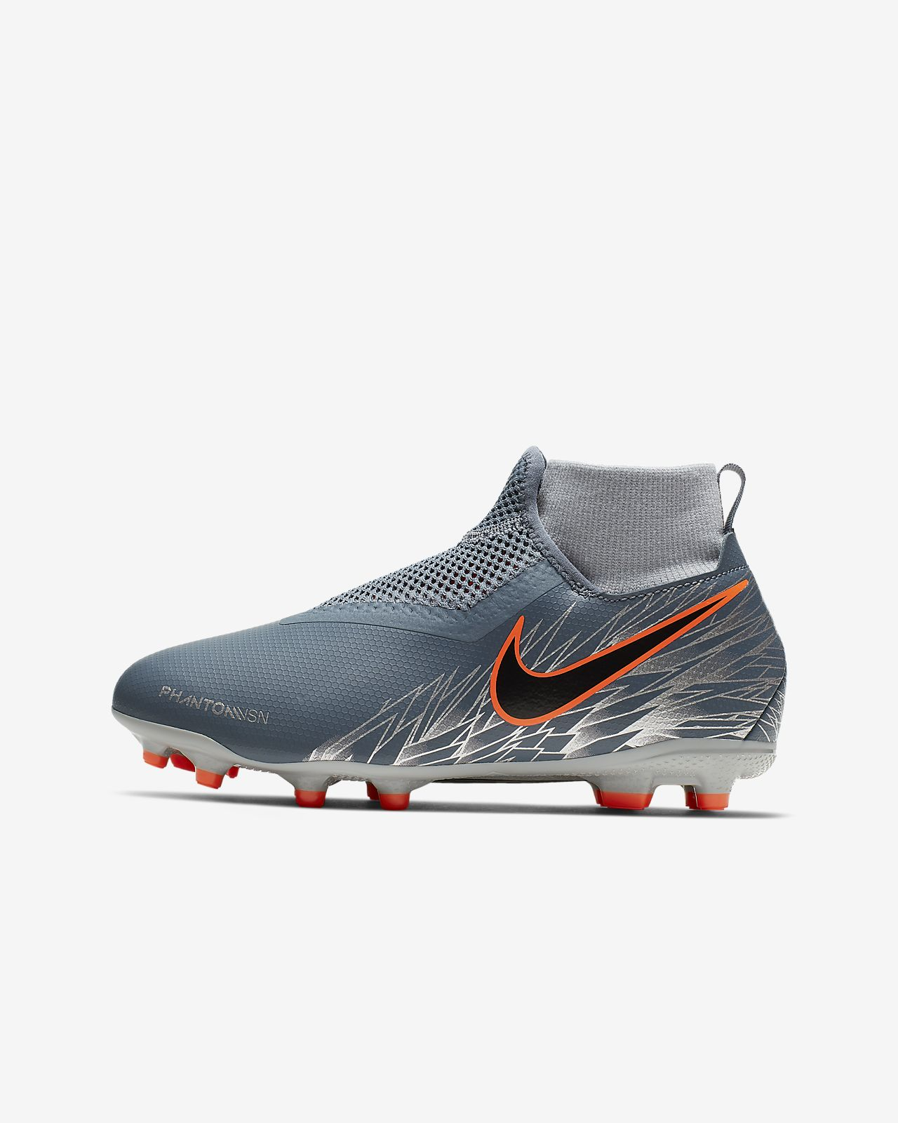 Nike Jr. Phantom Vision Academy Dynamic Fit MG Little/Big Kids' Multi-Ground Soccer Cleat