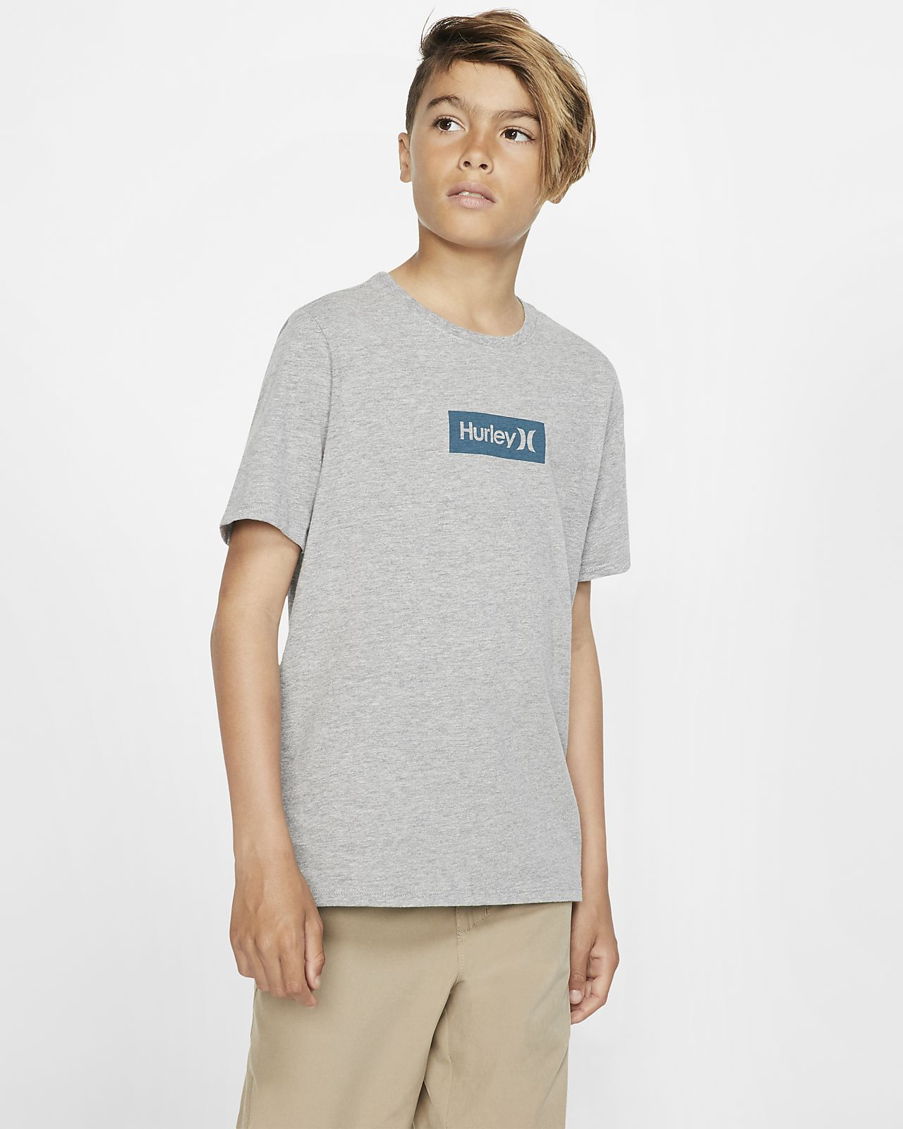 Hurley Premium One And Only Small Box Boys' T-Shirt