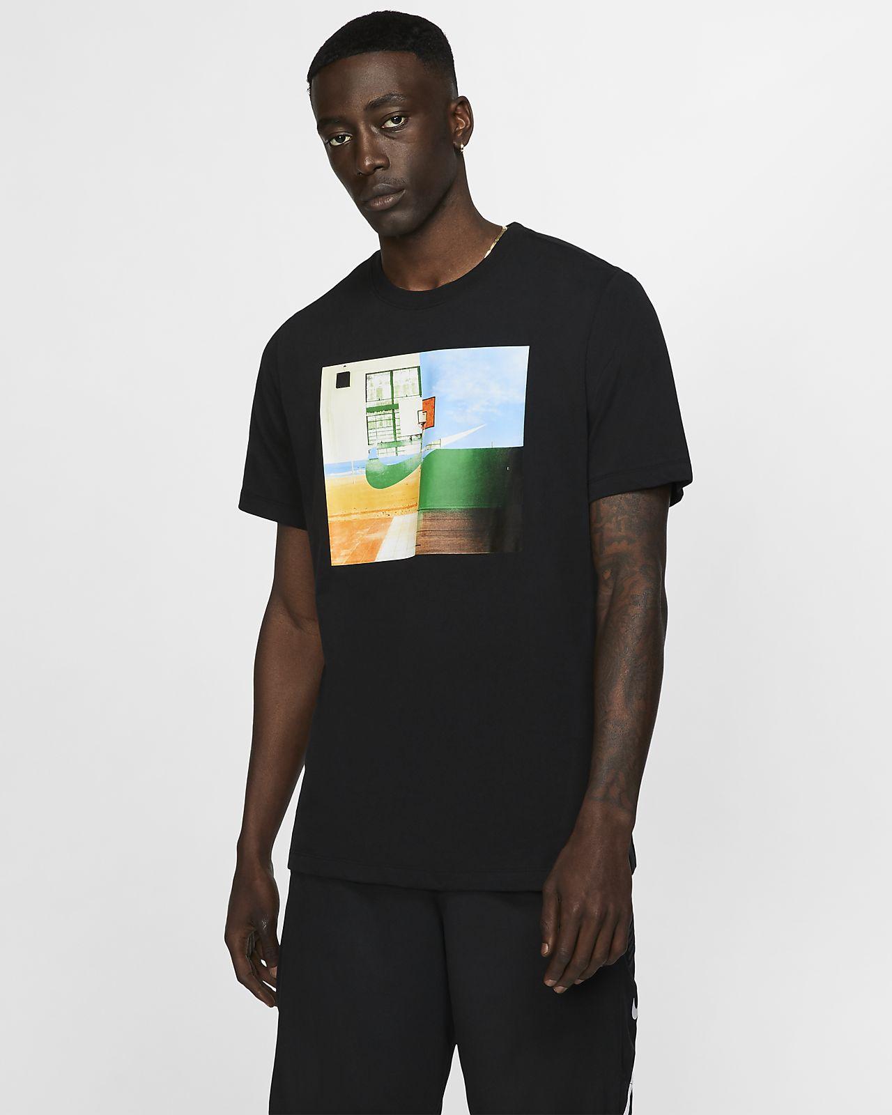 Nike Dri-FIT basket-T-skjorte til herre
