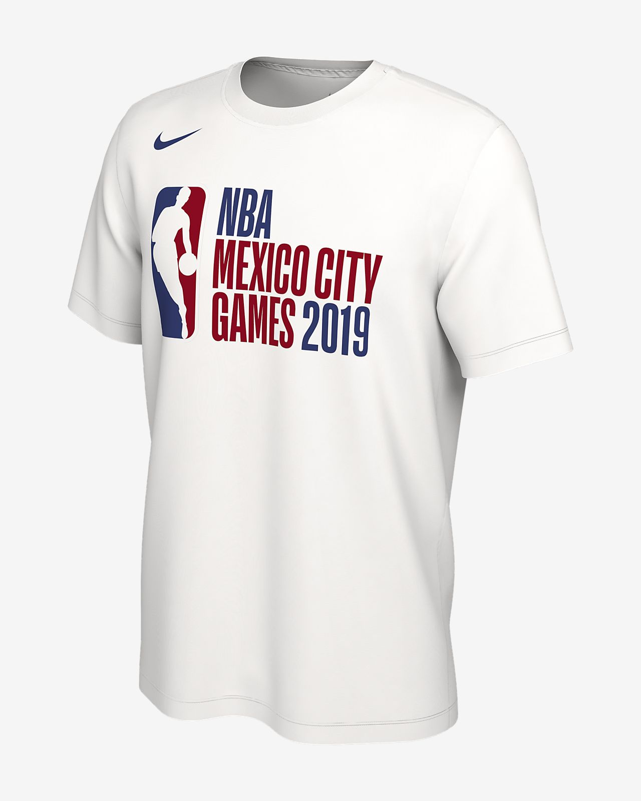 Playera Nike NBA para hombre Global Games Mexico City