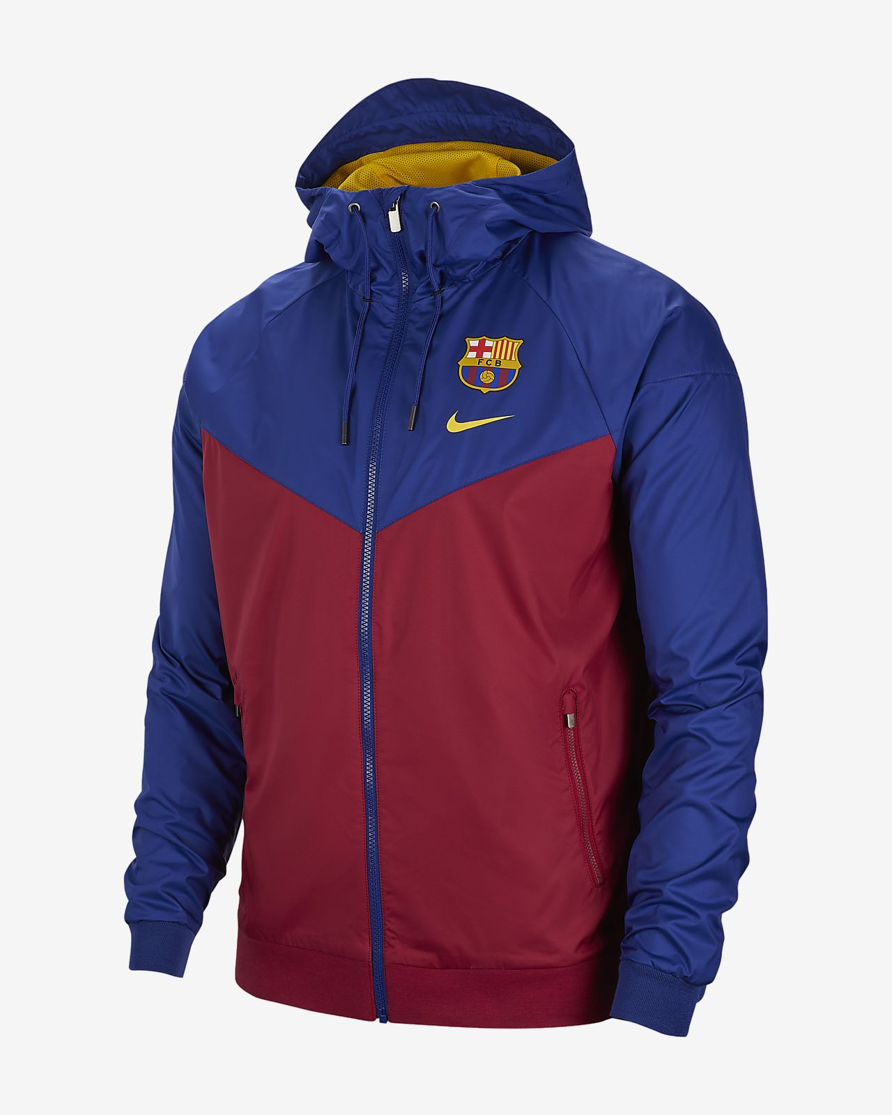 sale retailer 84f89 9b46c FC Barcelona Windrunner Men's Jacket