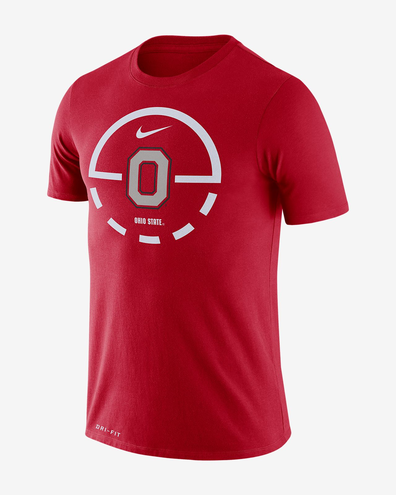 Nike College Dri-FIT Legend 2.0 (Ohio State) Men's T-Shirt