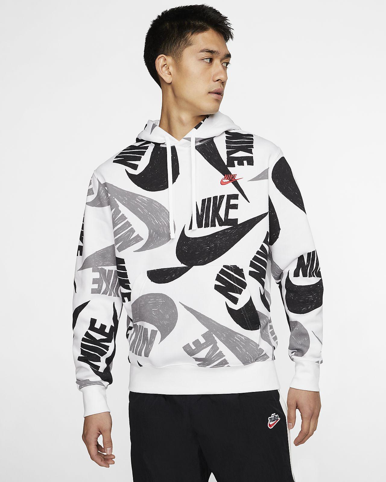 Nuove Felpe Nike Uomo Felpa Jordan All Around Nero On