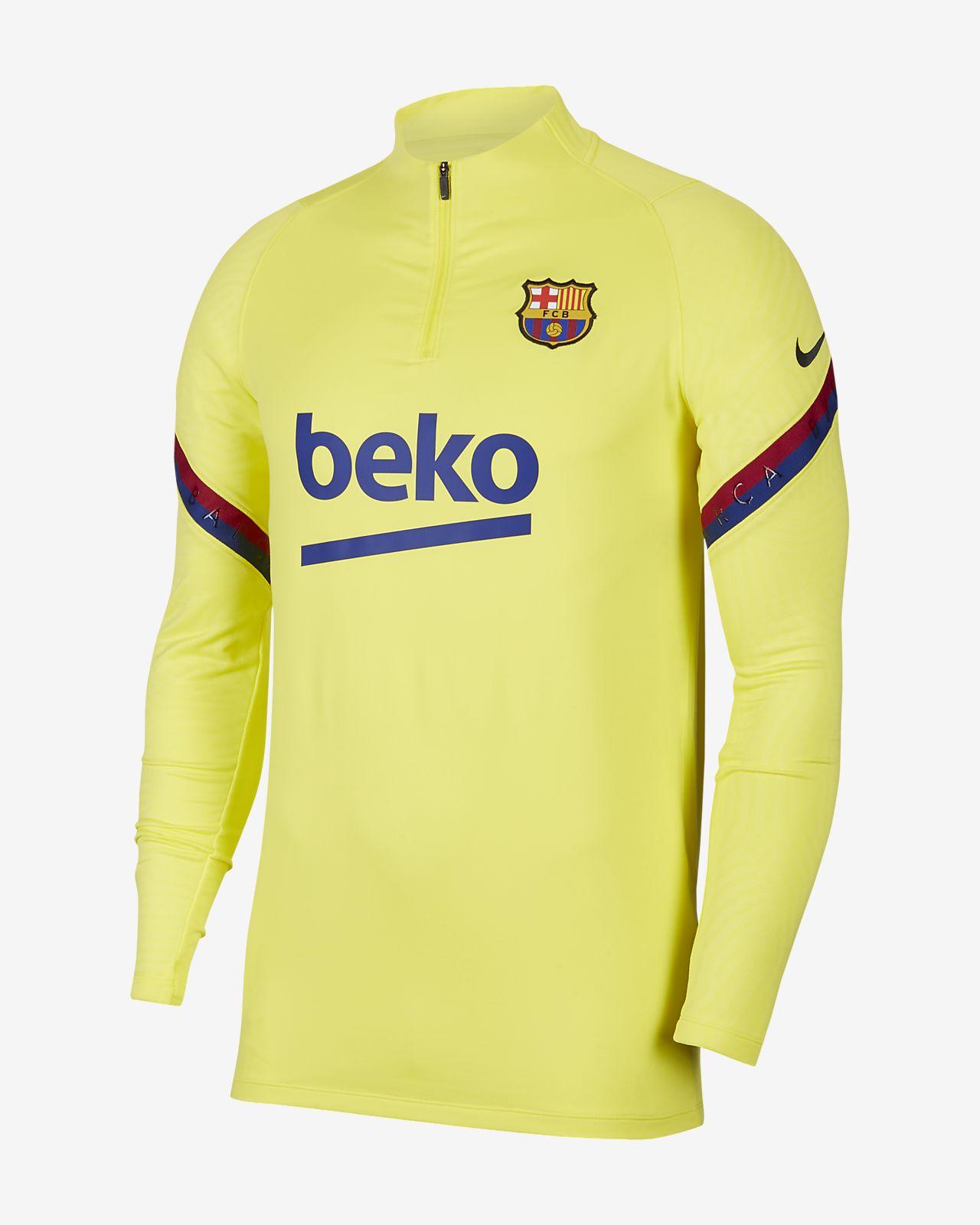 Ανδρική ποδοσφαιρική μπλούζα προπόνησης FC Barcelona Strike
