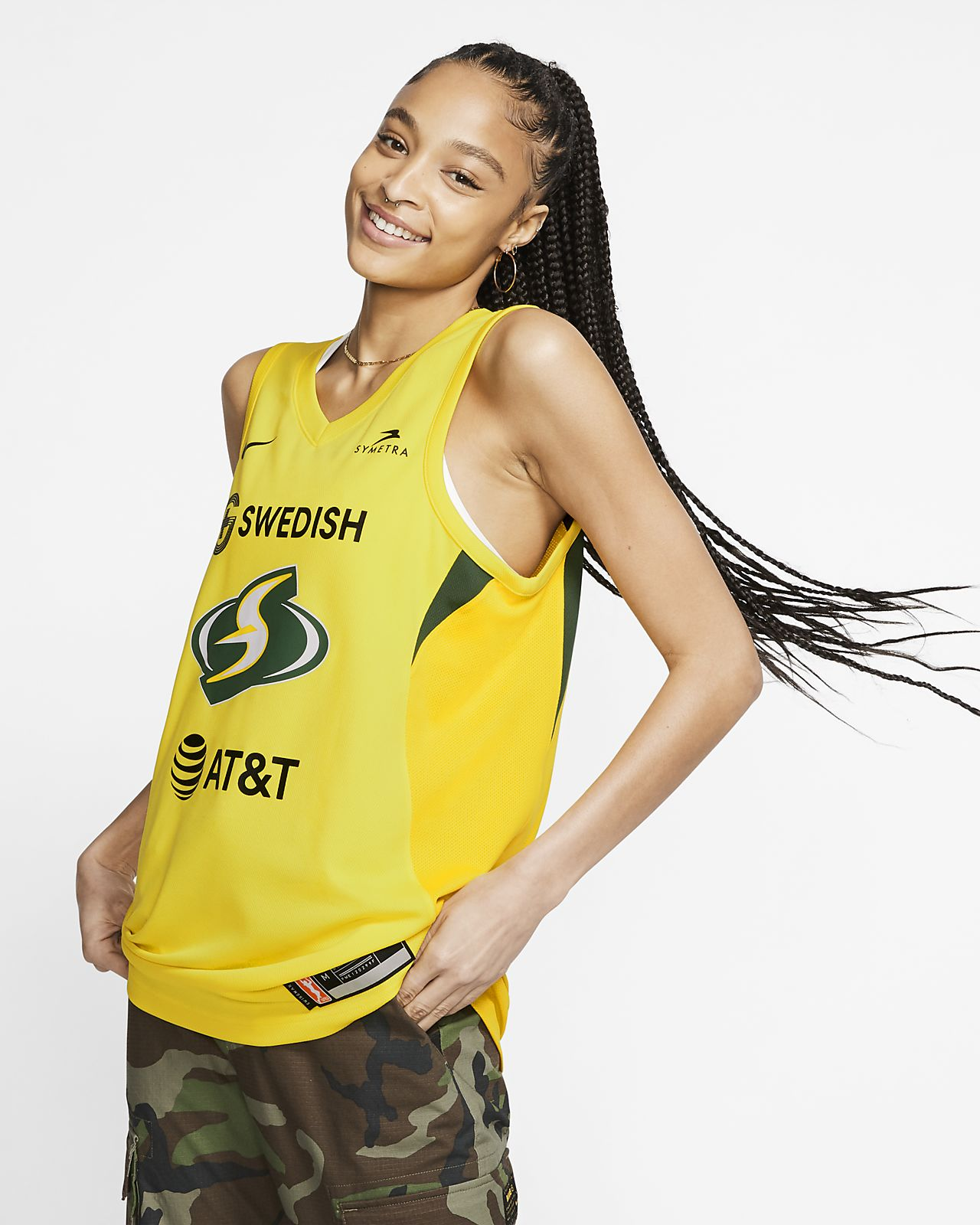 Sue Bird Seattle Storm Nike WNBA Basketball Jersey