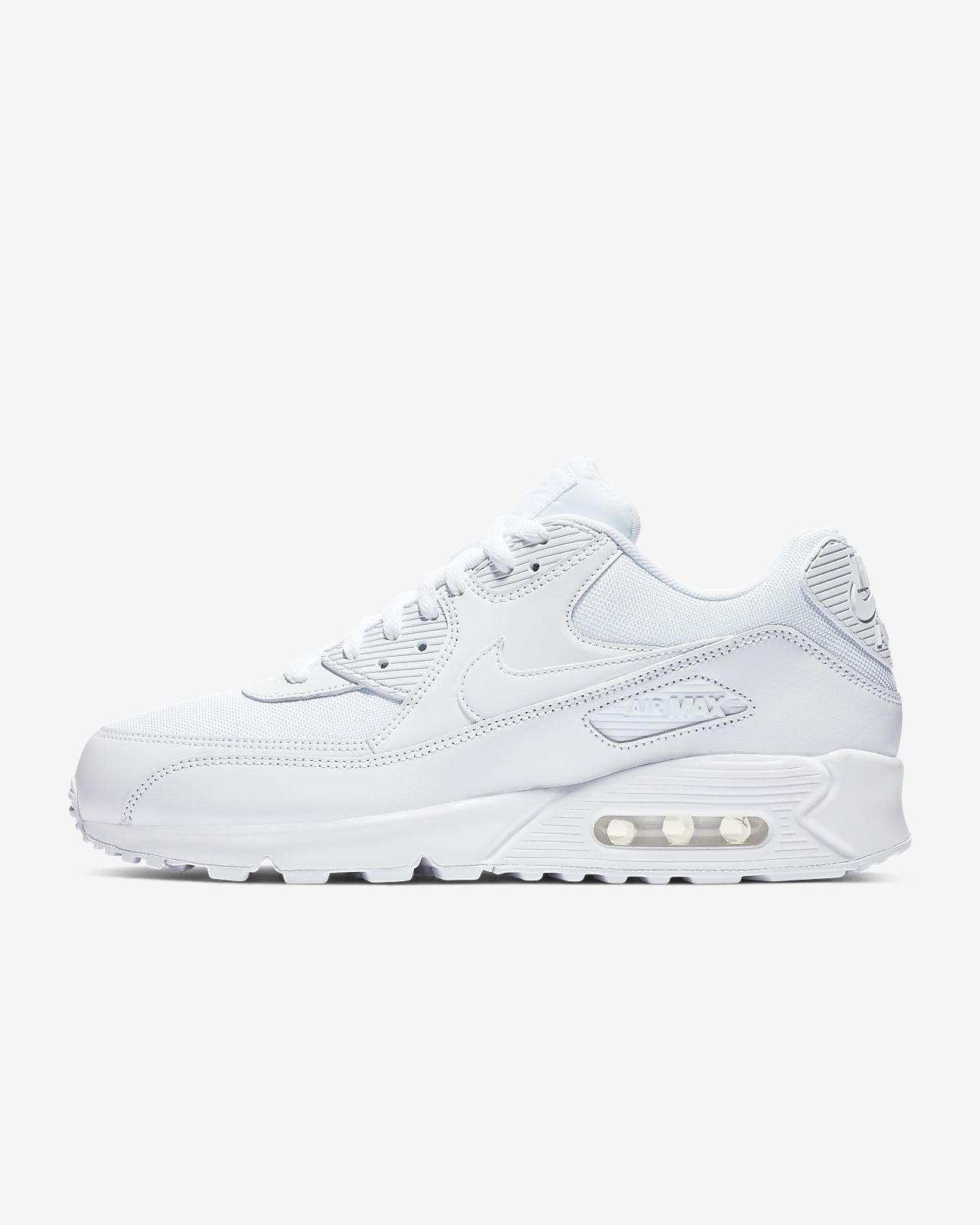 Nike Air max 90 essential Black Free delivery | Spartoo UK