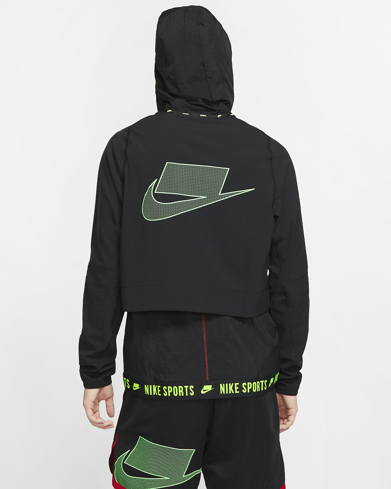 Nike Flex Sport Clash Herren Trainingsjacke mit durchgehendem Reißverschluss