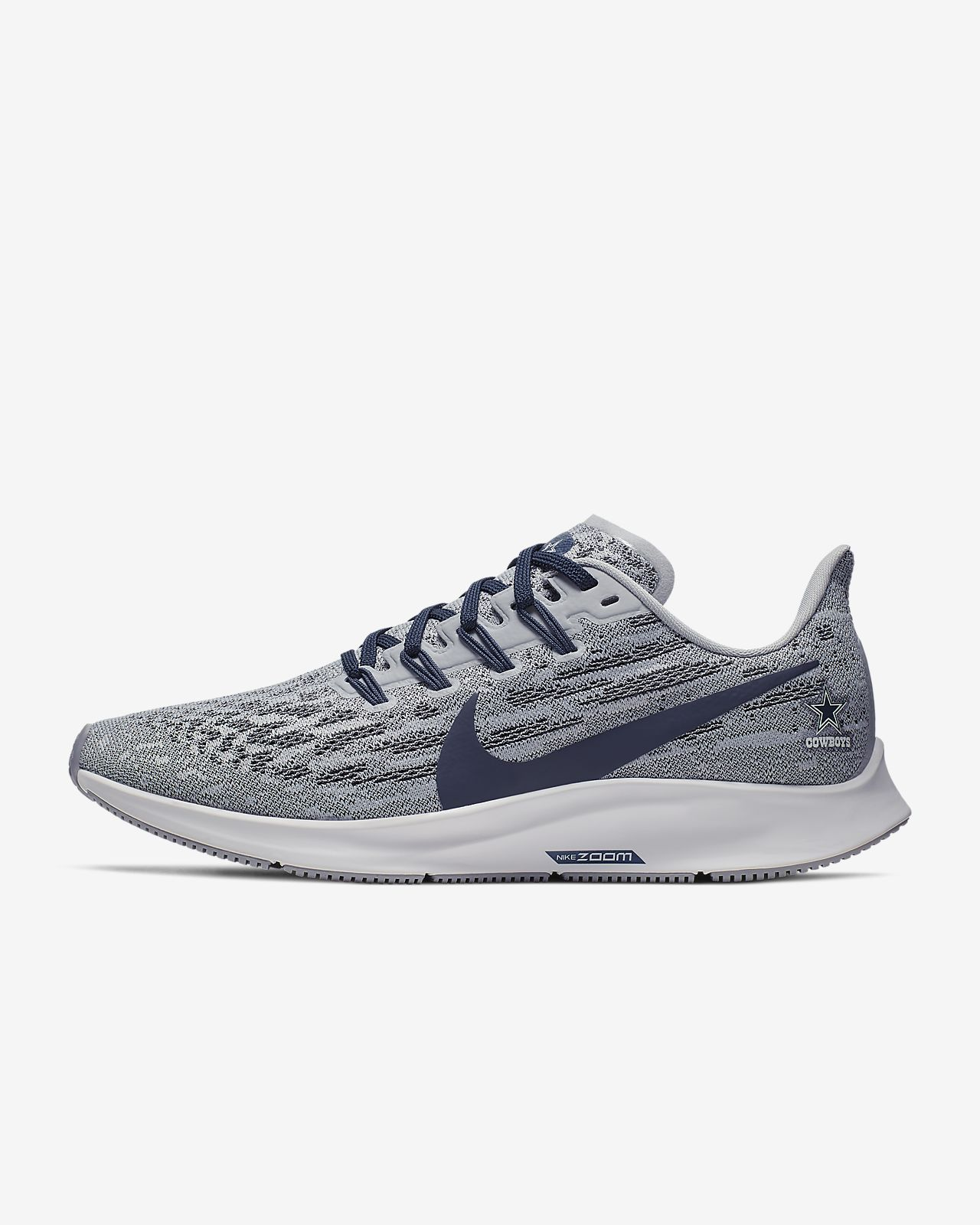 Nike Air Zoom Pegasus 36 (Cowboys) Women's Running Shoe