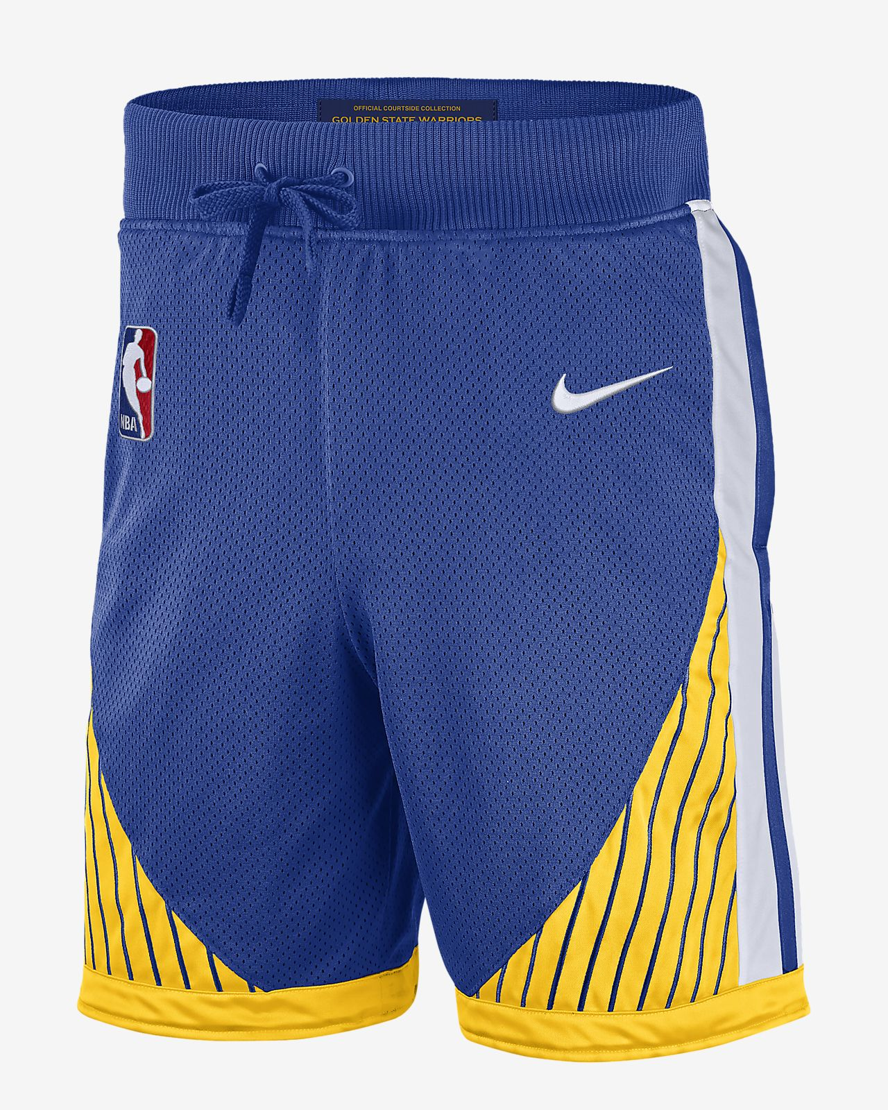 Short NBA Golden State Warriors Nike Courtside pour Homme