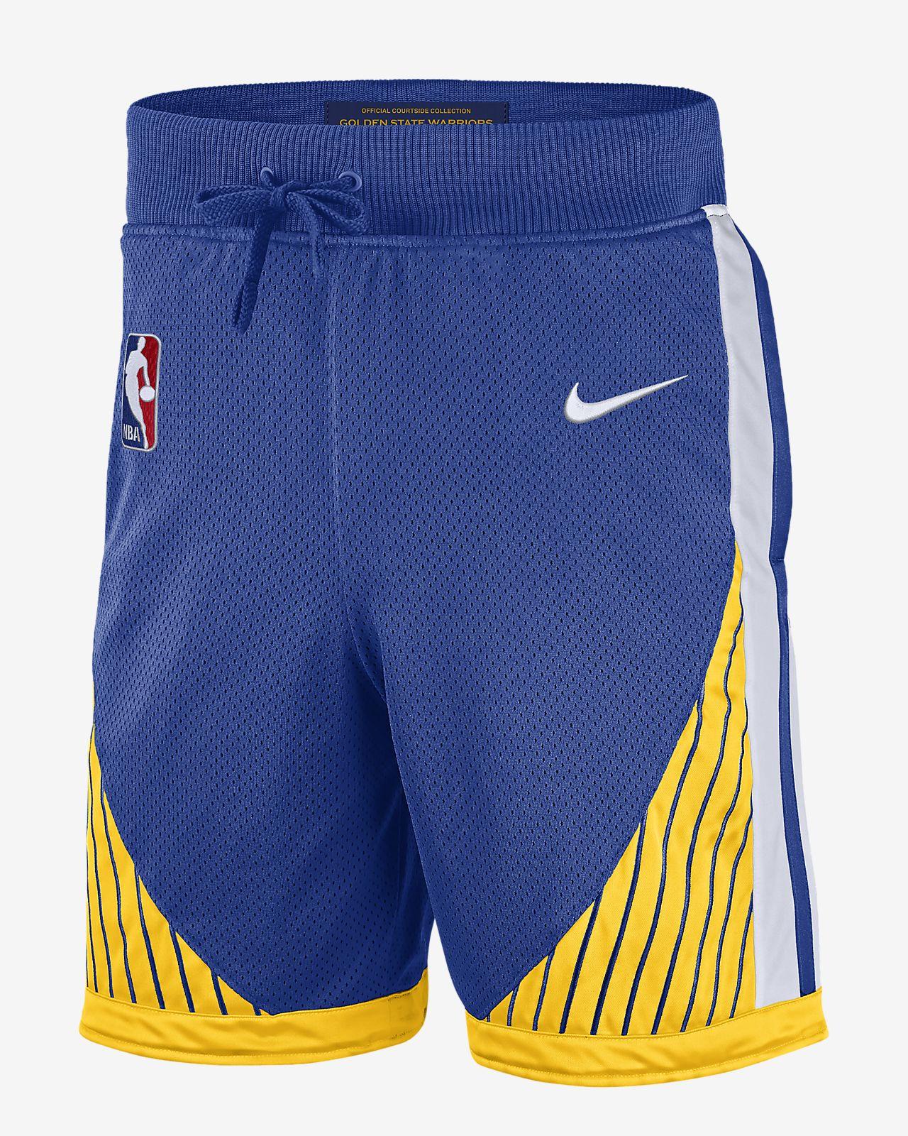 Shorts de la NBA para hombre Golden State Warriors Nike Courtside