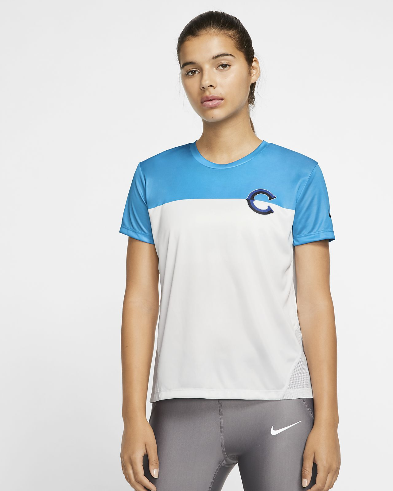 Nike Miler Chicago Women's Short-Sleeve Running Top