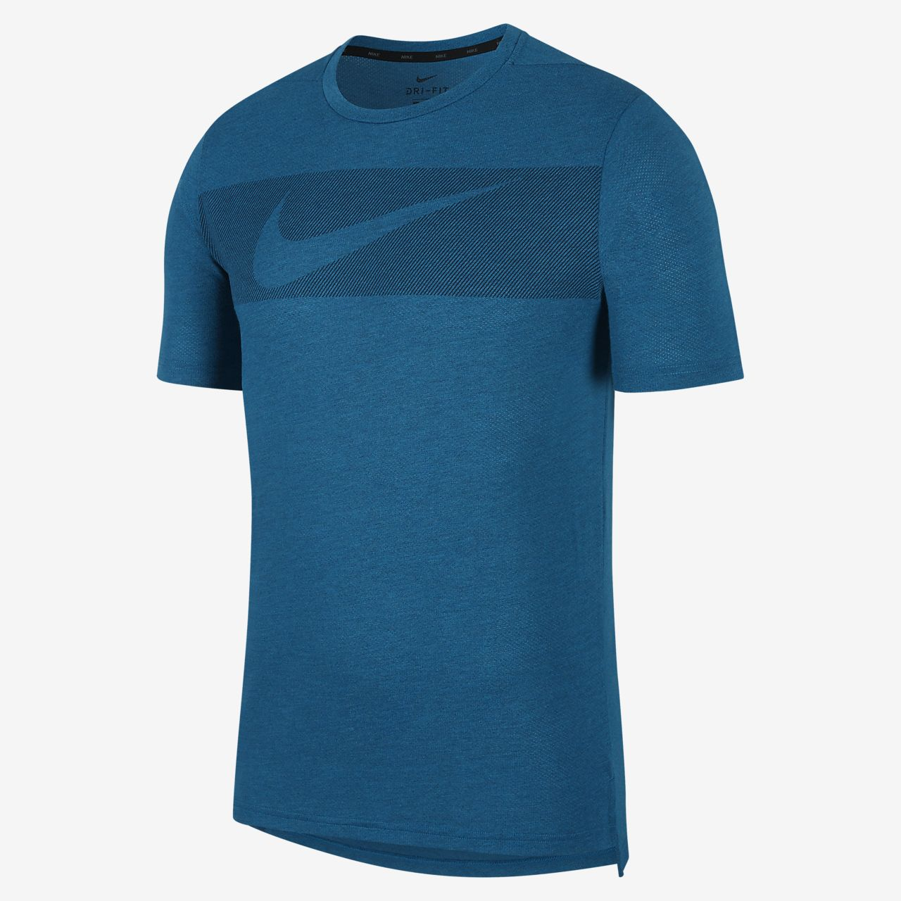 Męska koszulka treningowa z krótkim rękawem Nike Breathe