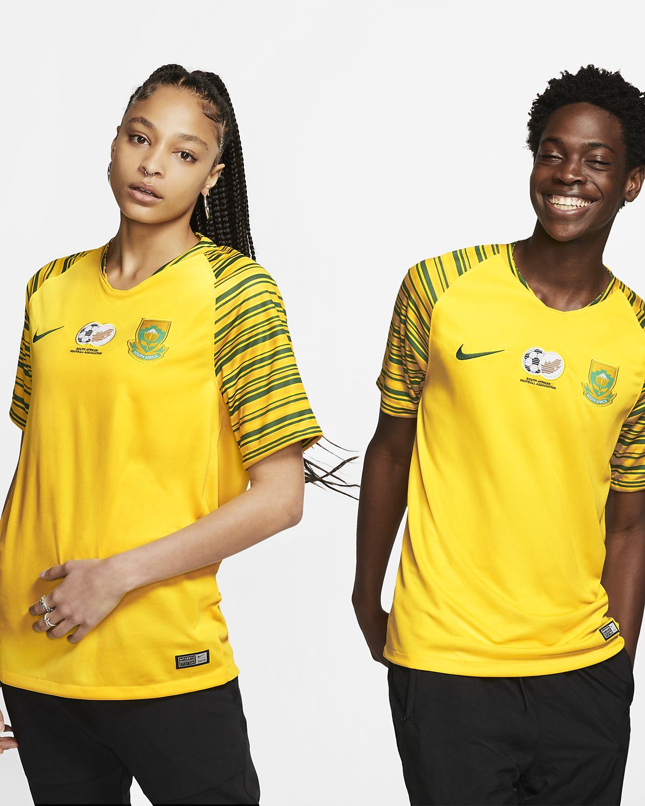 Camiseta de fútbol para hombre South Africa 2019 Stadium Home