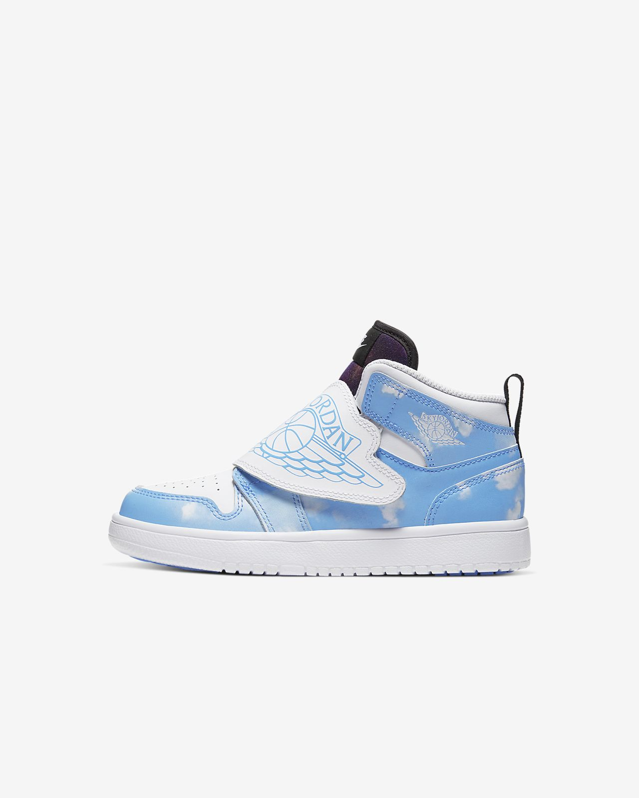 Sky Jordan 1 Fearless sko for små barn