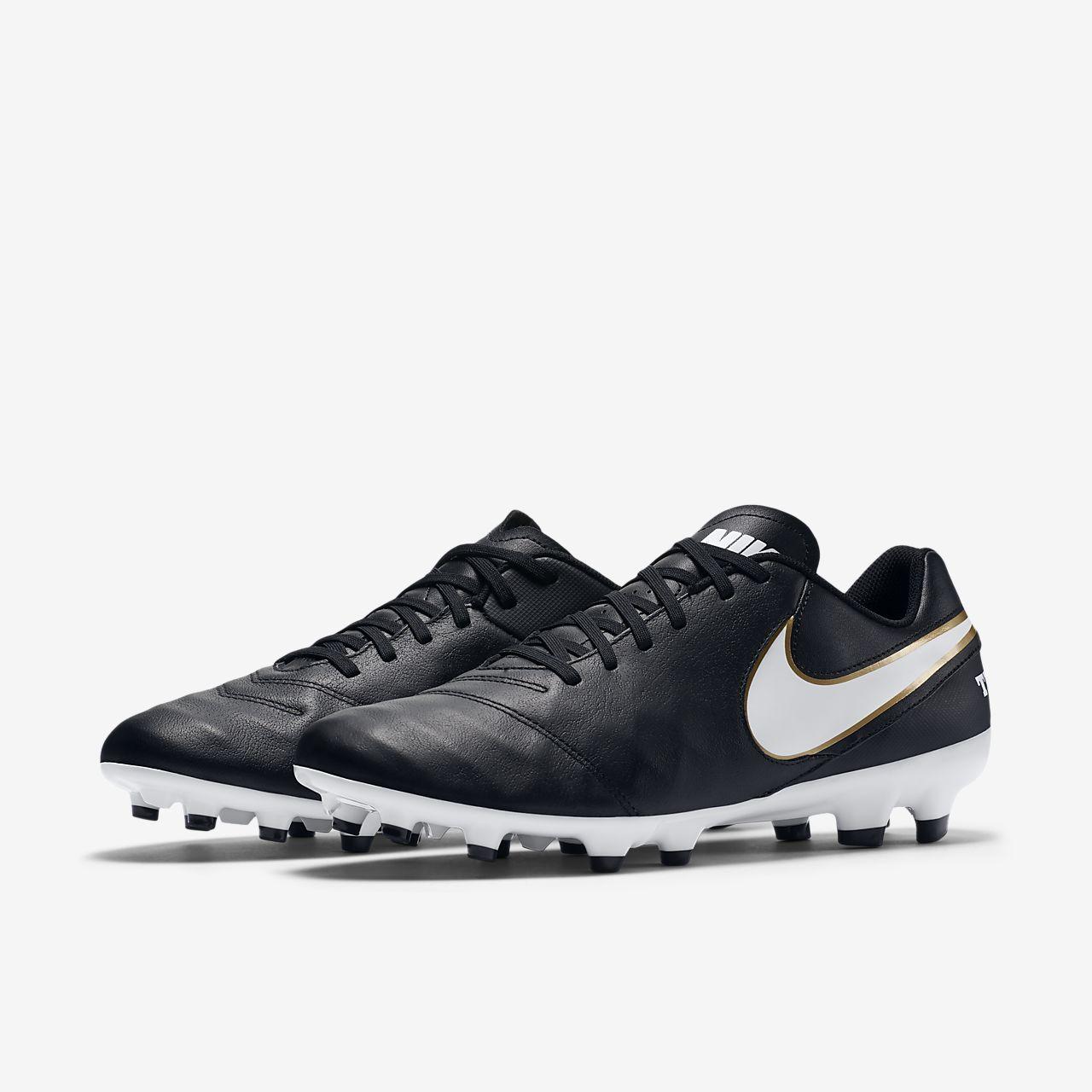 Chaussure de football à crampons pour terrain sec Nike Tiempo Genio II  Leather