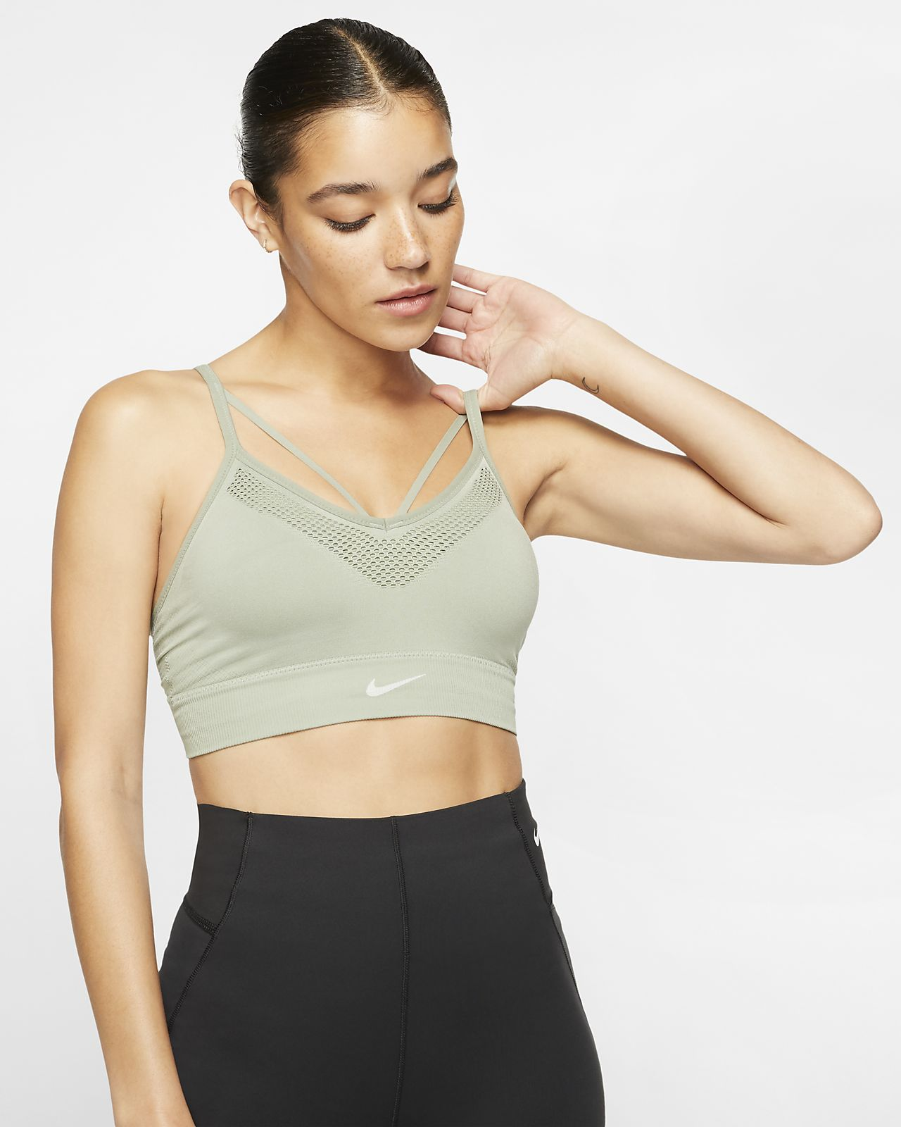 Nike Seamless Women's Light-Support Yoga Sports Bra