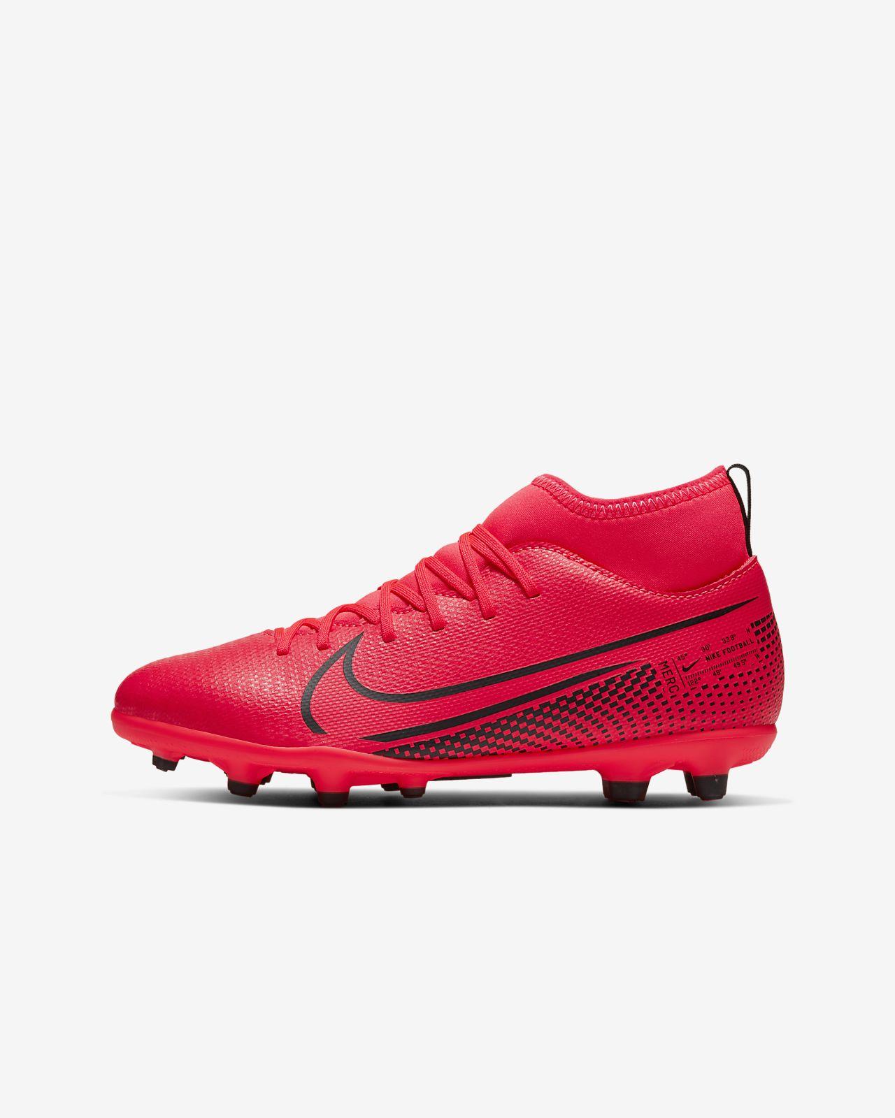 Fotbollssko för varierat underlag Nike Jr. Mercurial Superfly 7 Club MG för barnungdom
