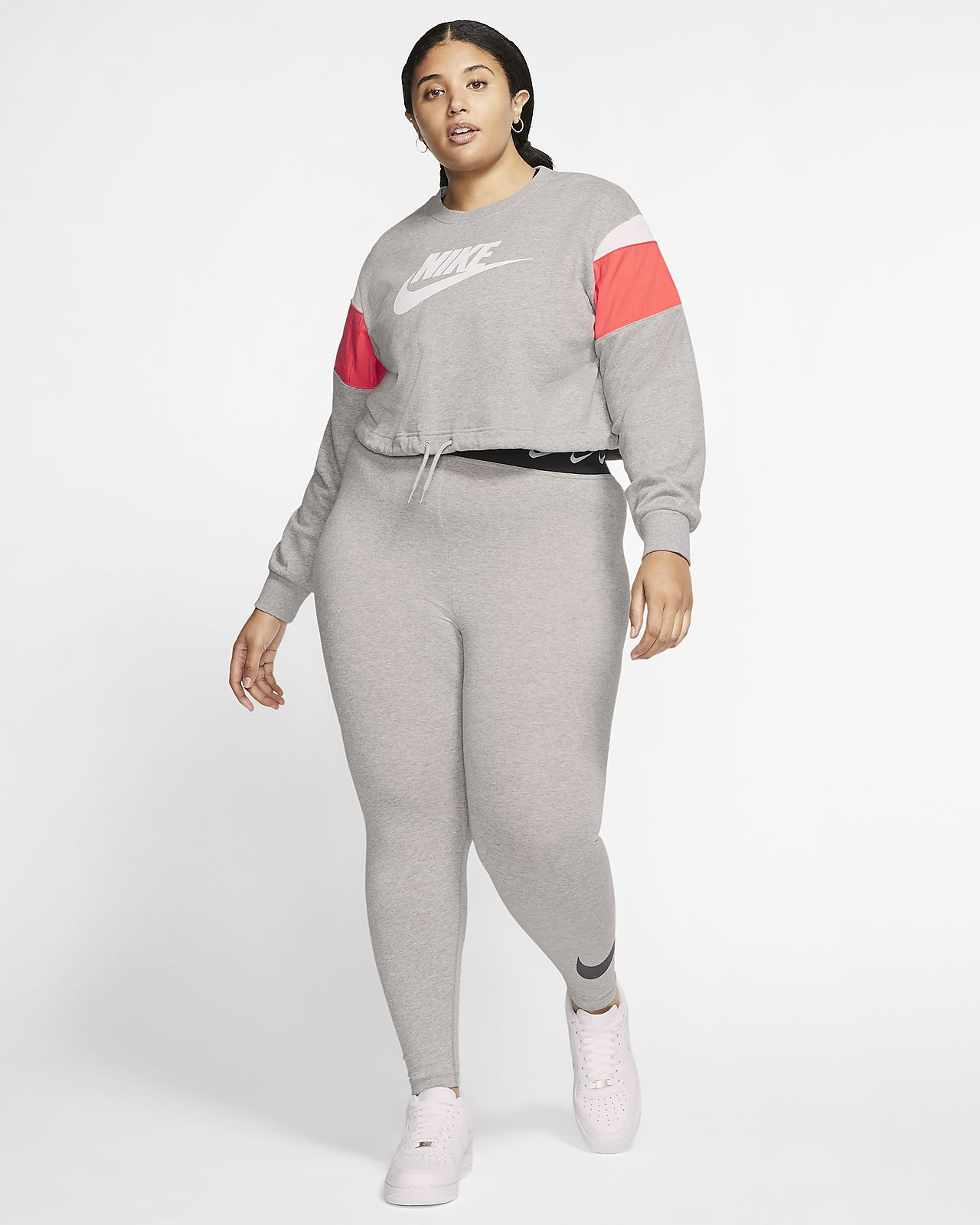 Nike Sportswear Heritage Women's Fleece Crew (Plus Size