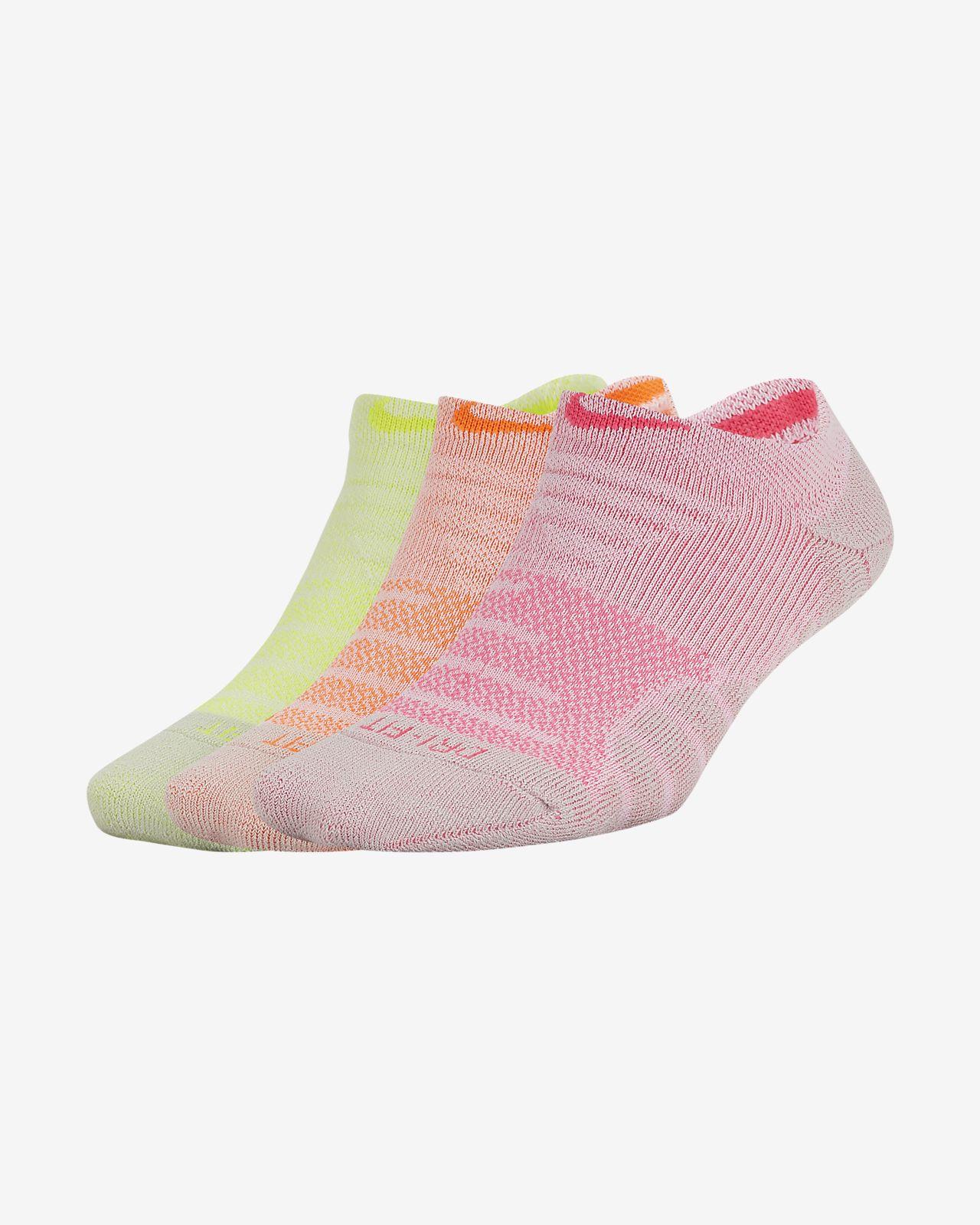 Nike Dry Cushion No-Show Training Socks (3 Pair)