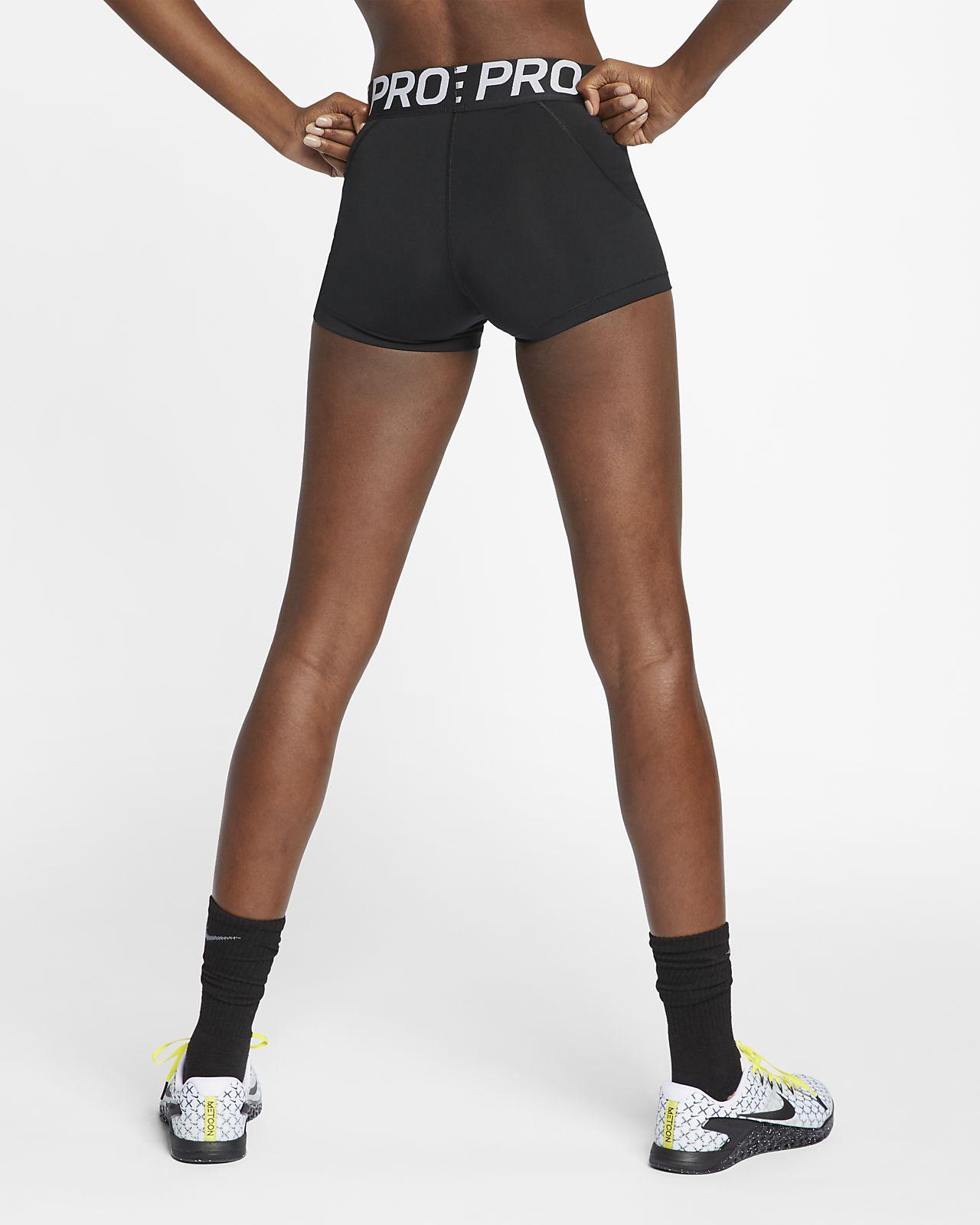 Bekleidung Damen Nike Damen Sport Fitness Trainings Freizeit Shorts Pro Tight Dri-FIT AO9977