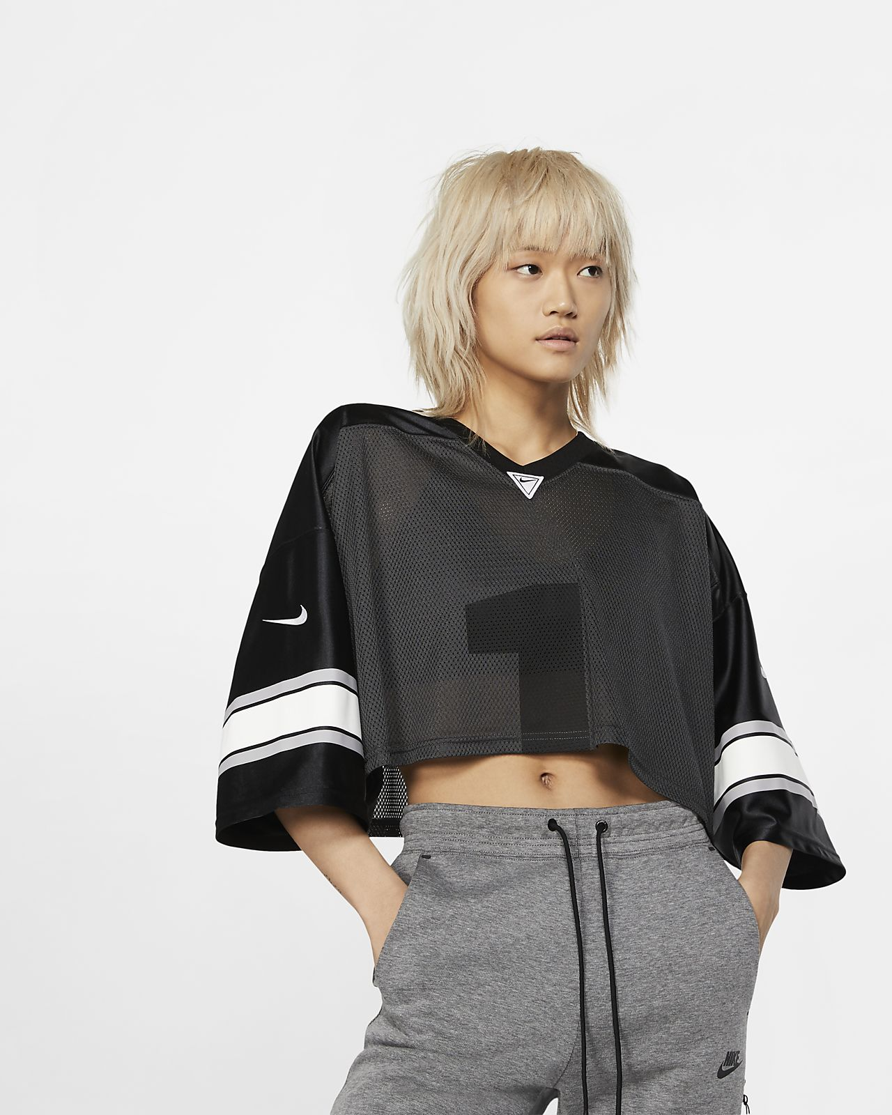 Camisola de futebol NikeLab Collection para mulher