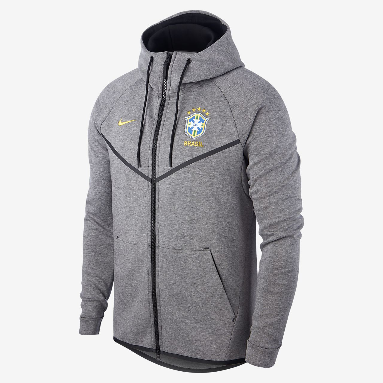 fb4066f7c8ab Brasil CBF Tech Fleece Windrunner Herenjack. Nike.com NL