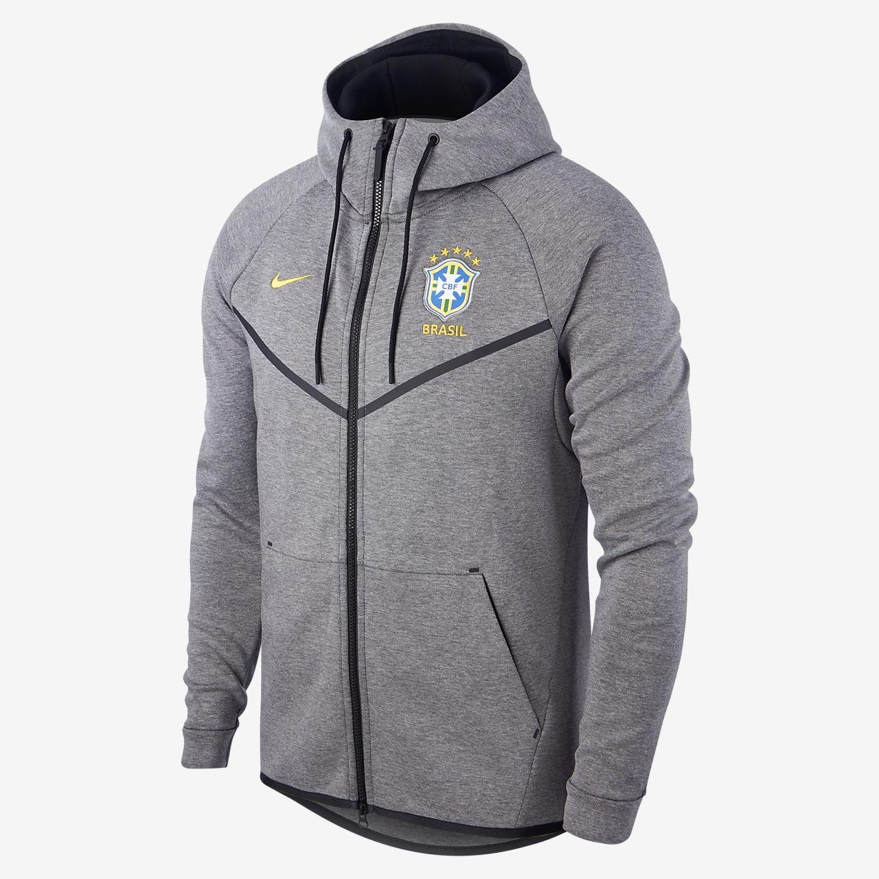 Brazil CBF Tech Fleece Windrunner Men's Jacket
