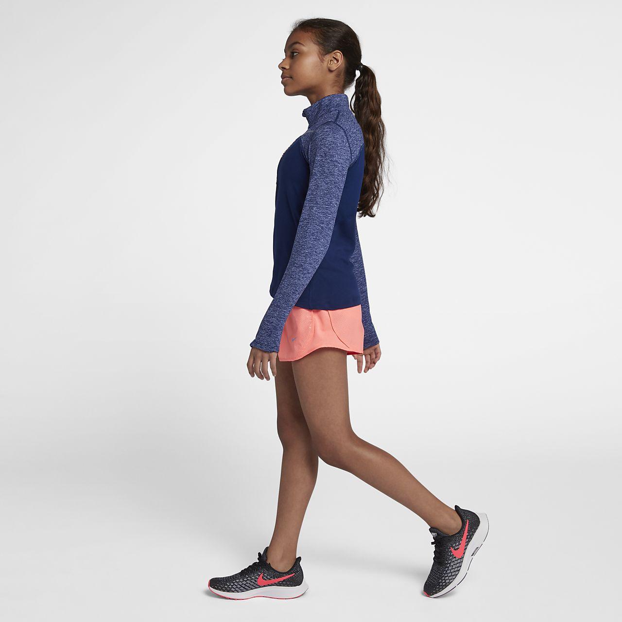 3c407c86ce2d Nike Dri-FIT Older Kids  (Girls ) Half-Zip Running Top. Nike.com AU