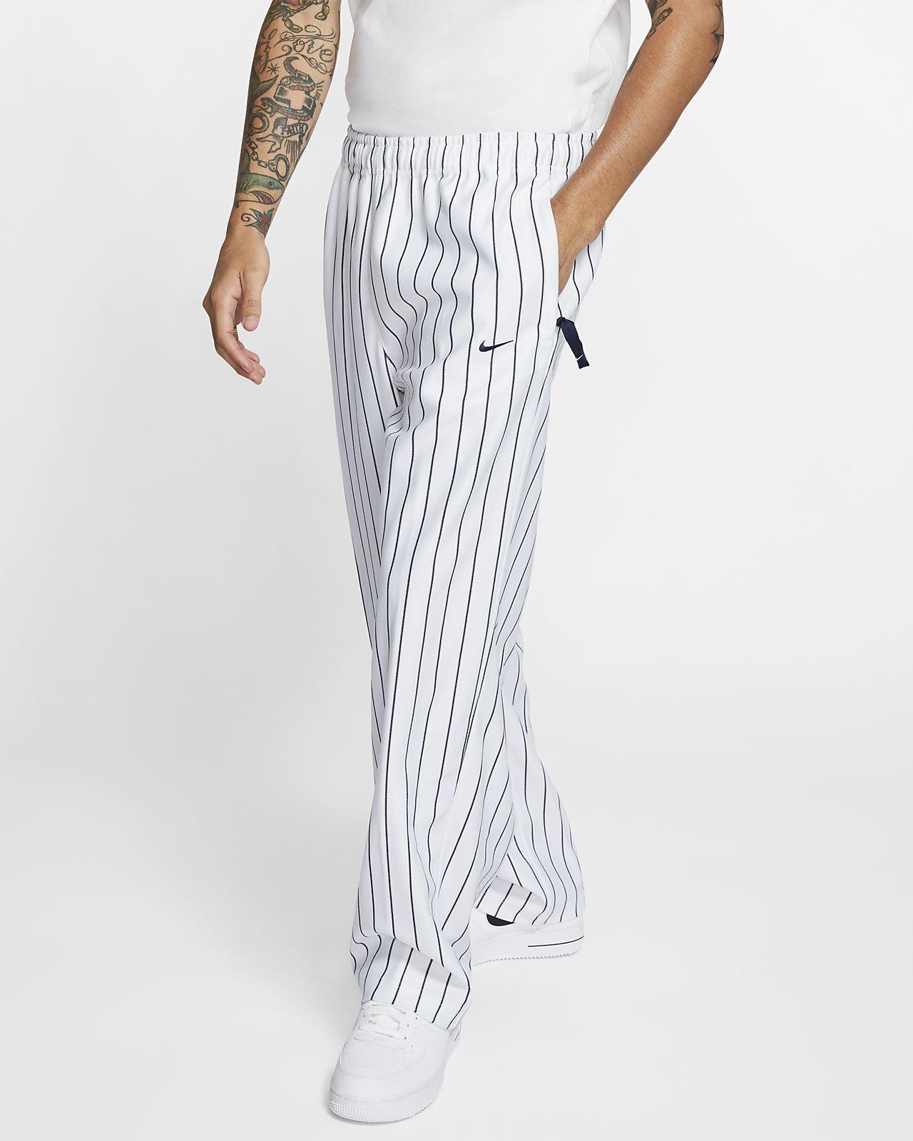 Nike Men's Swoosh Striped Trousers