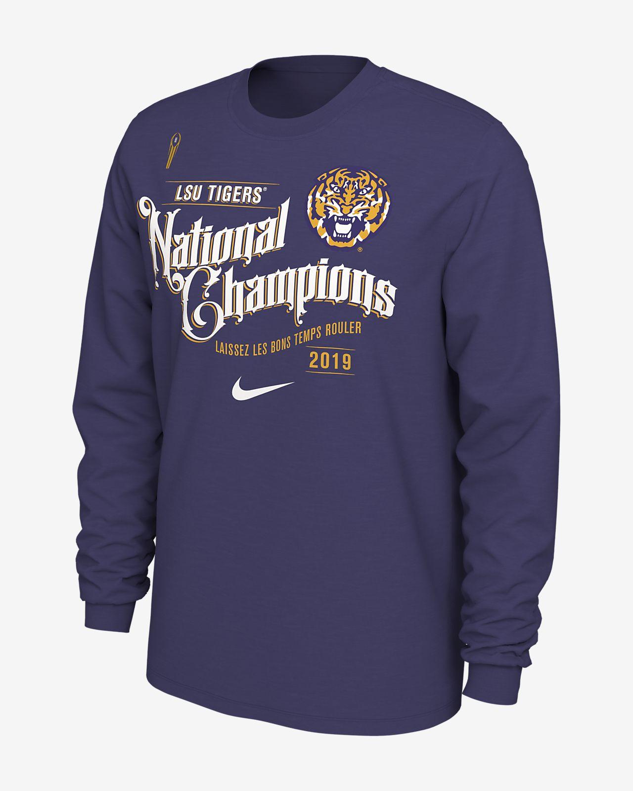 Nike College National Championship Game Celebration (LSU) Men's Long-Sleeve T-Shirt