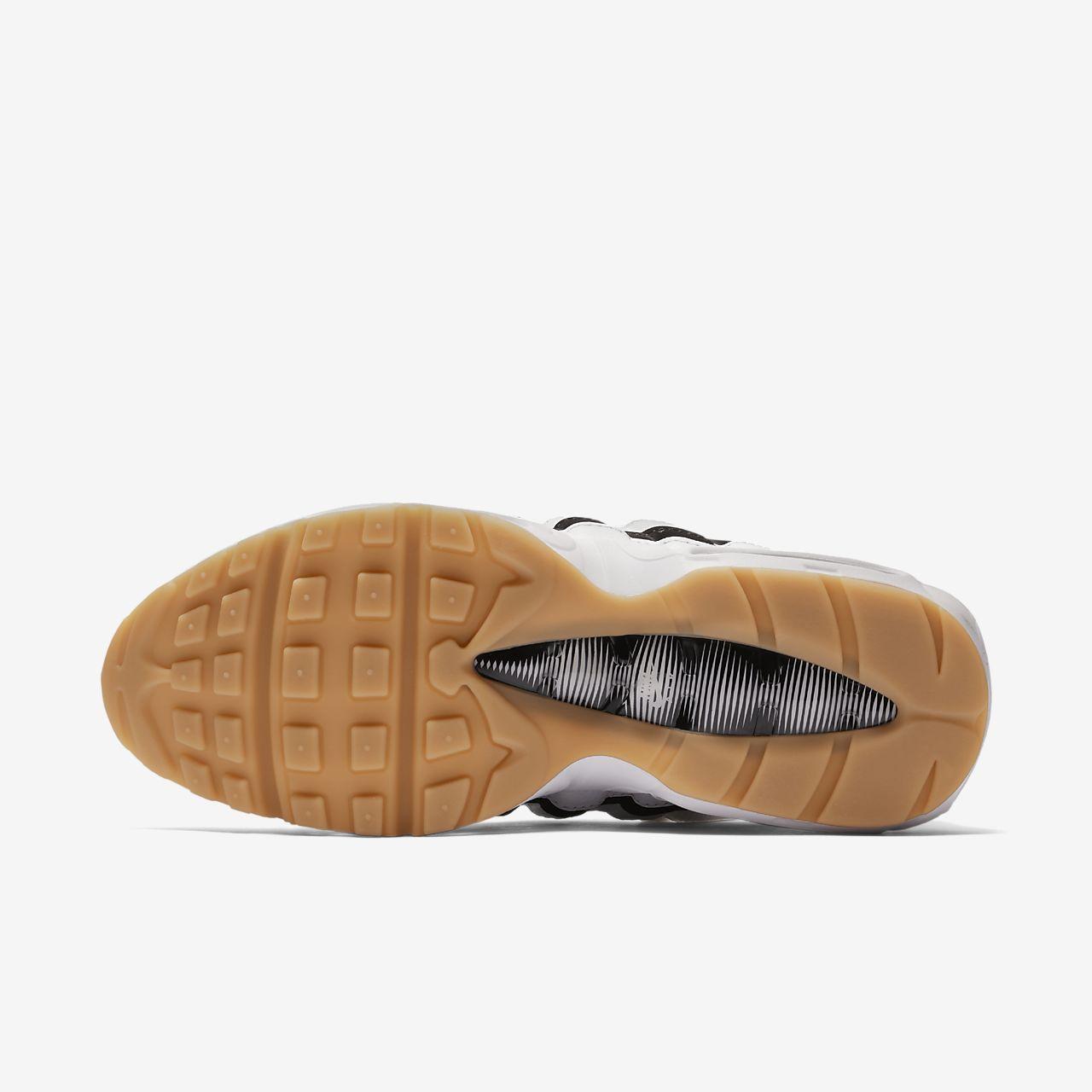 scarpa nike air max 95 og biancogum light brownnero 307960 112