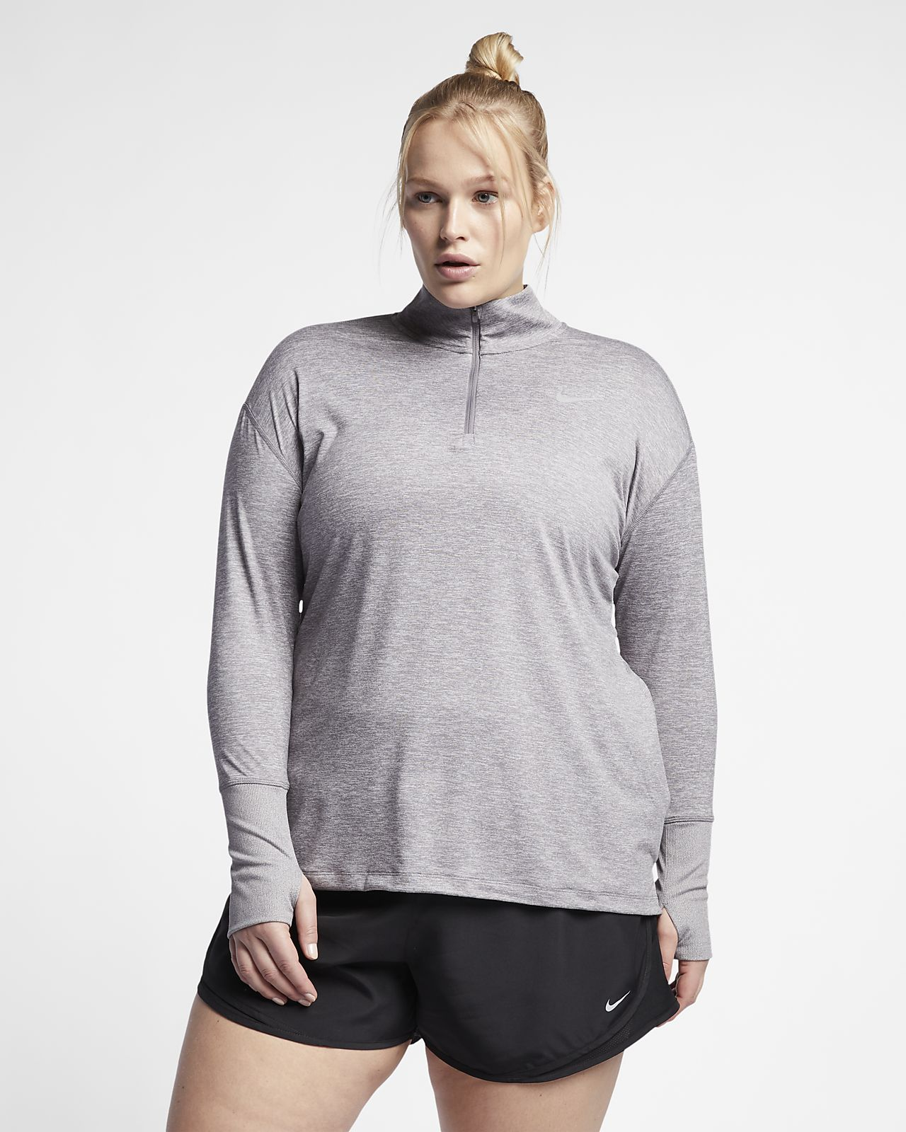 a7c294b098db Nike Element (Plus Size) Women s Half-Zip Running Top. Nike.com